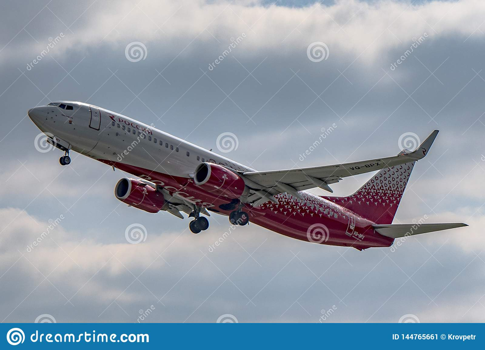Flughafen Prag Ruzyne, entfernen Boeing 737-800 Russland