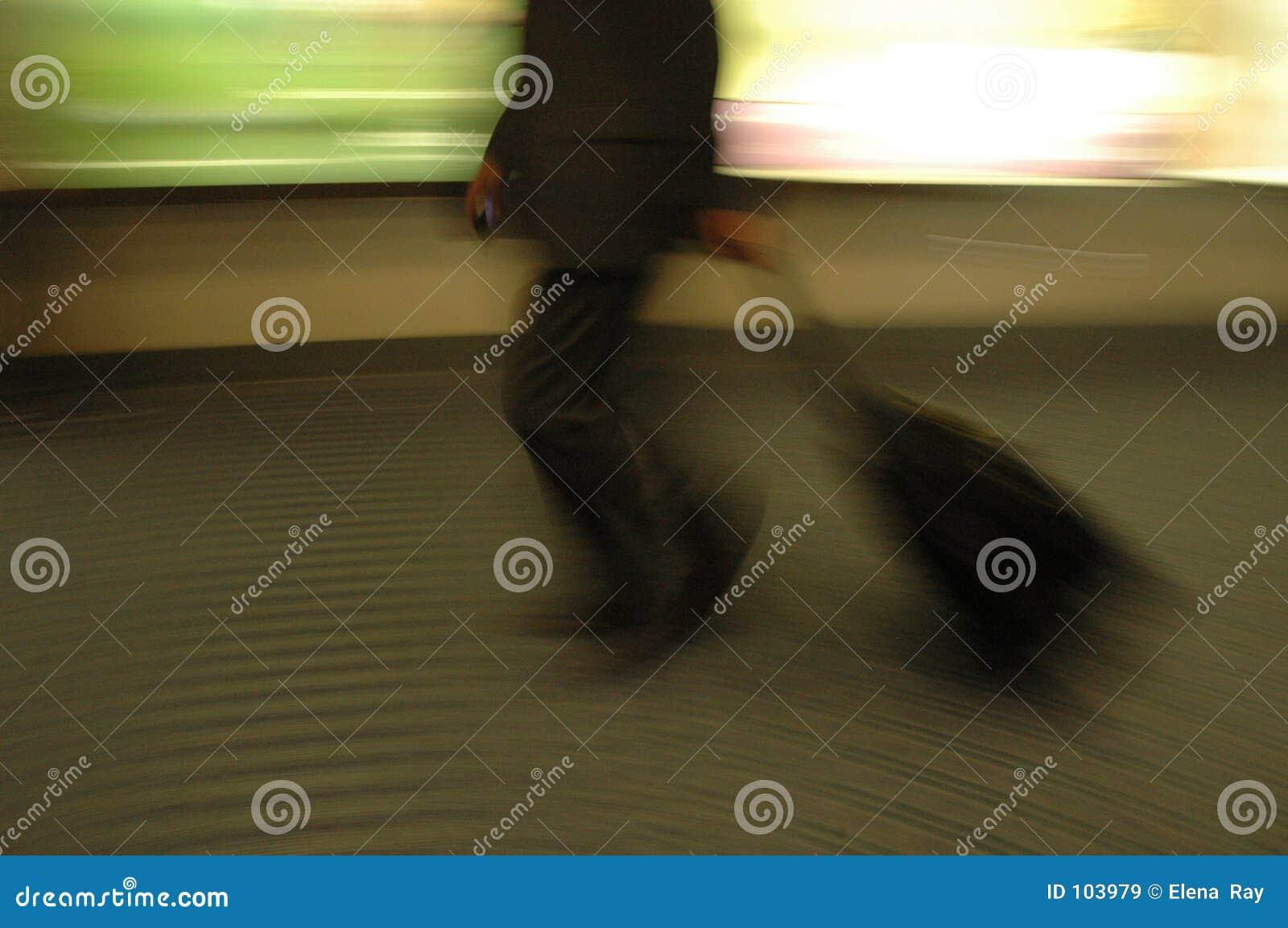 Flughafen-Unschärfen 2