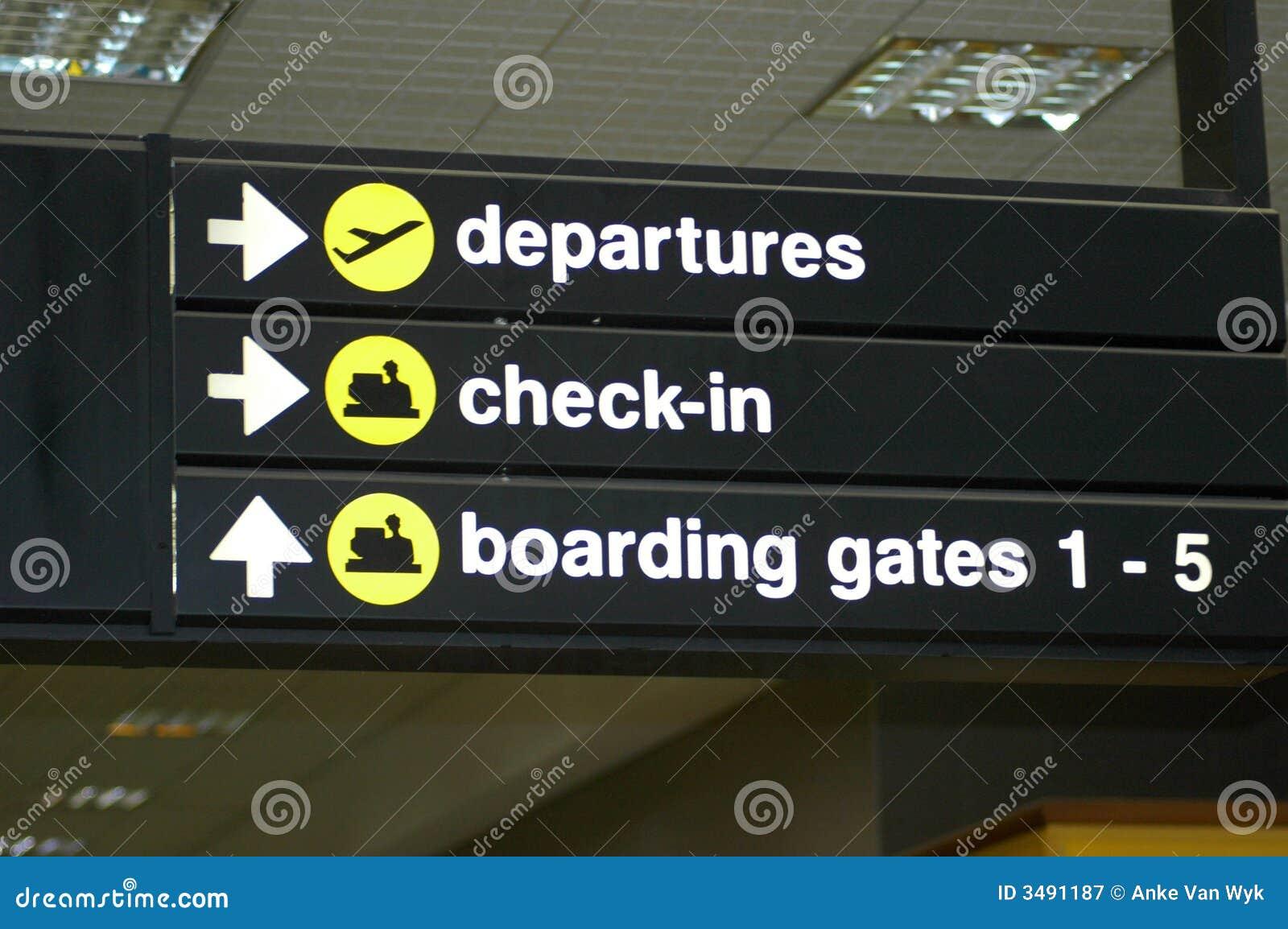 Flughafenzeichen