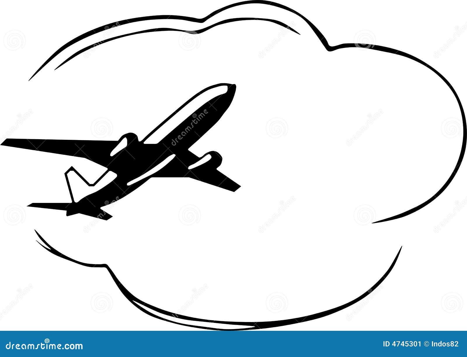 flugzeug stock abbildung illustration von urlaub