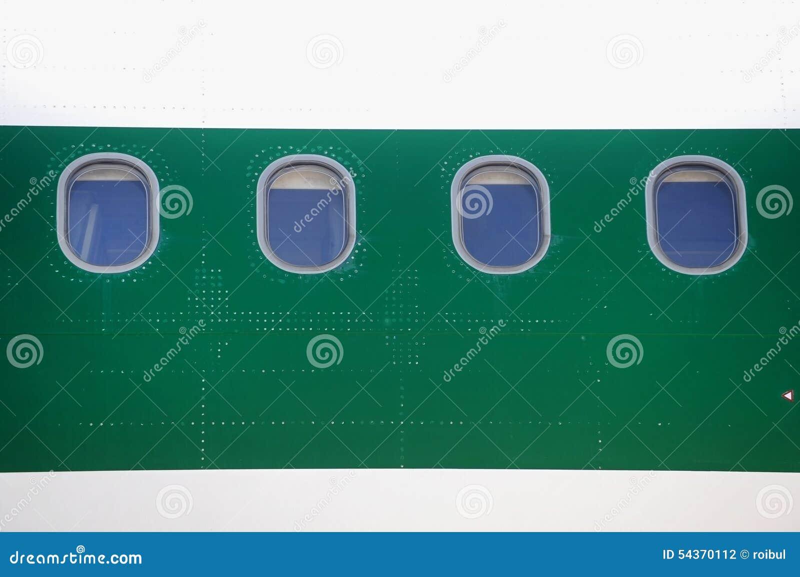 Flugzeugfenster stockfoto. Bild von nahaufnahme, öffnung - 54370112