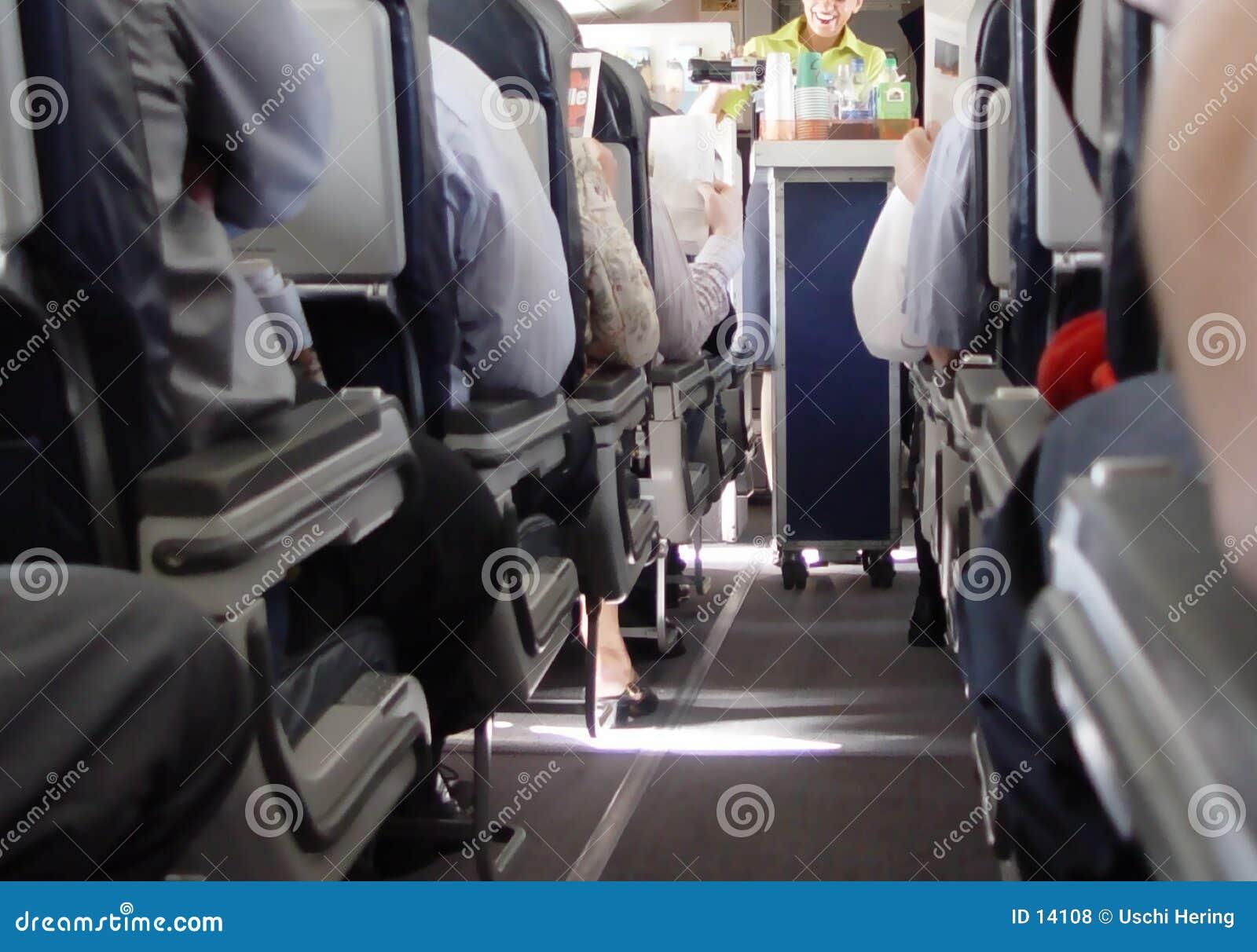 Flugzeugflur