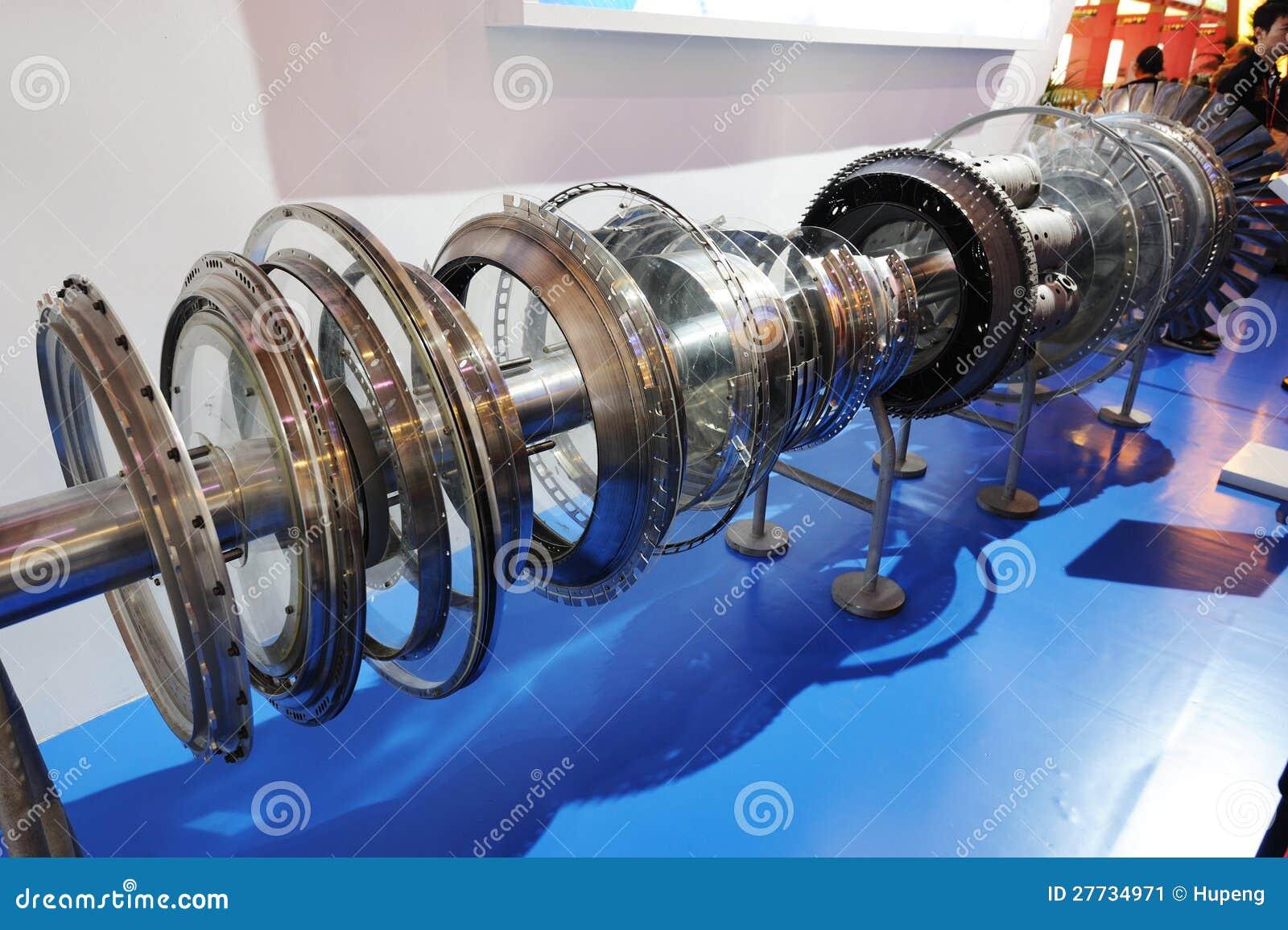 Flugzeugmotordetail