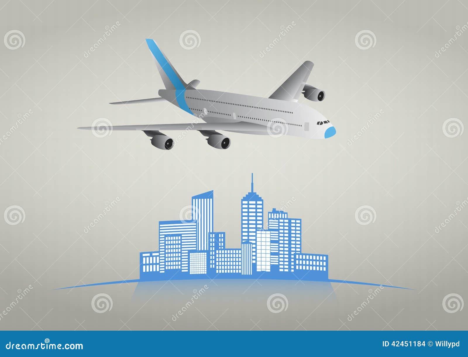 Flugzeugstadt