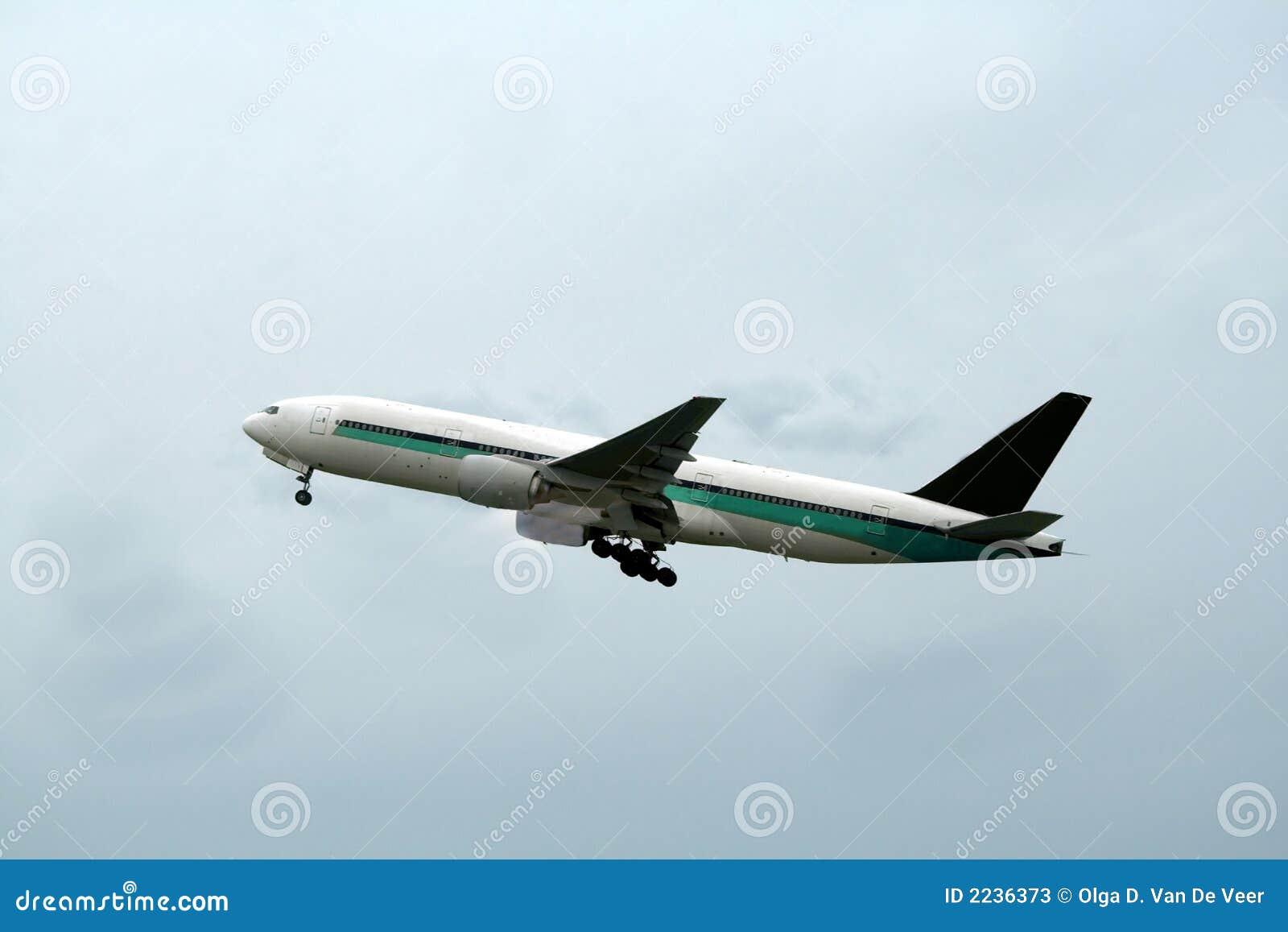 Flugzeugstart