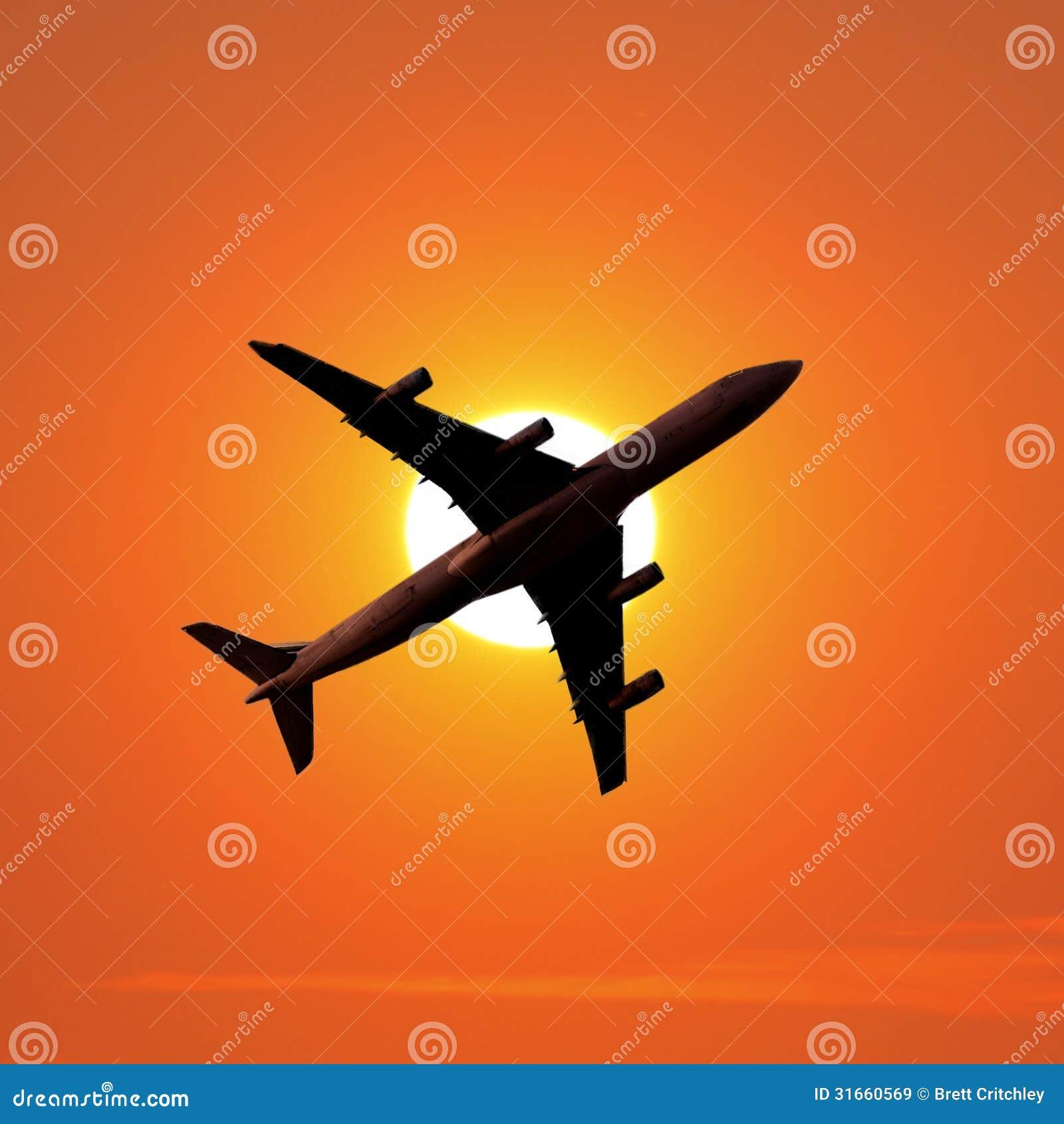 Flugzeugverkehrflugzeug