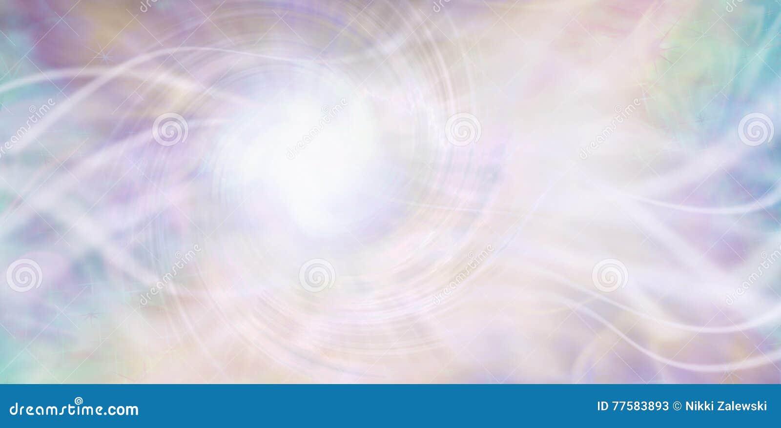 Fluindo o fundo etéreo da energia