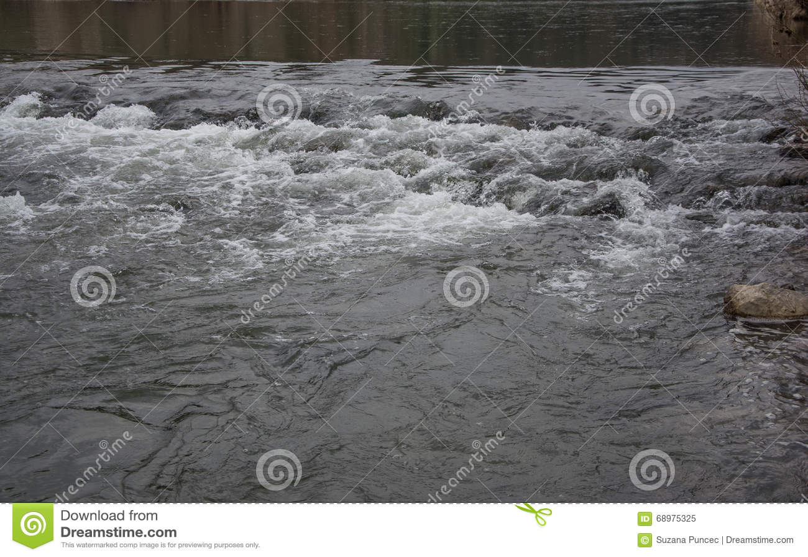 Flujo del río