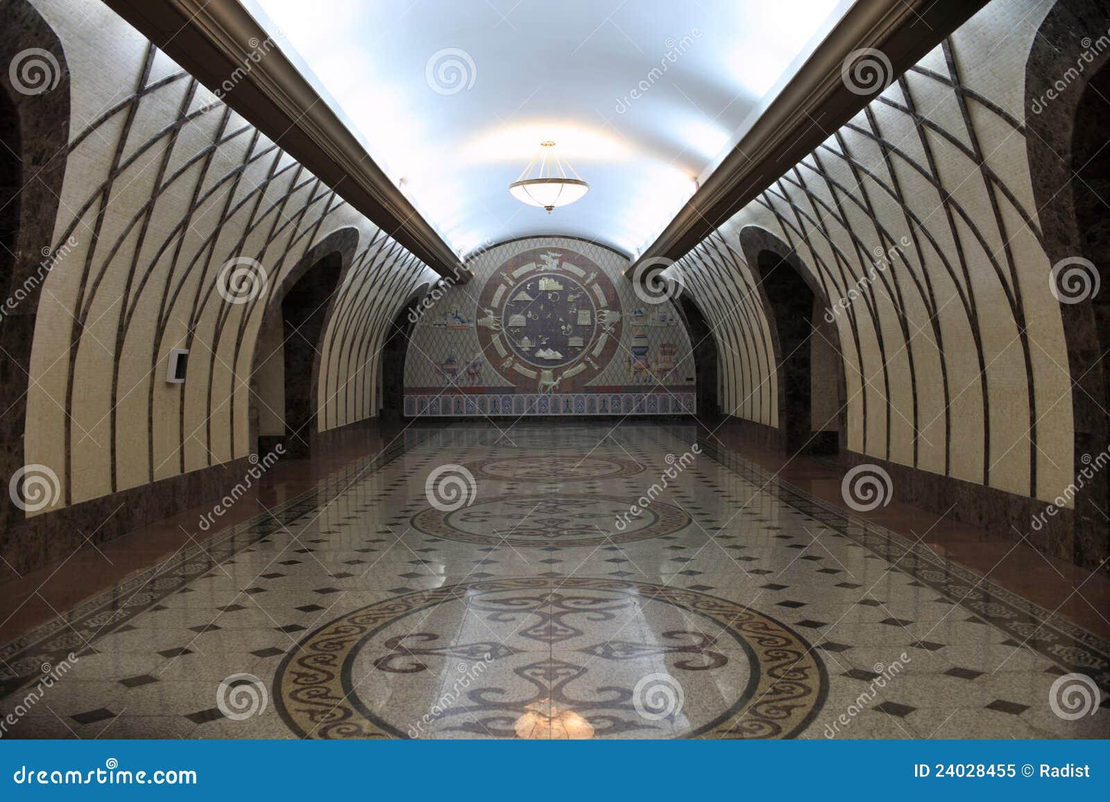 Flur der U-Bahnstation