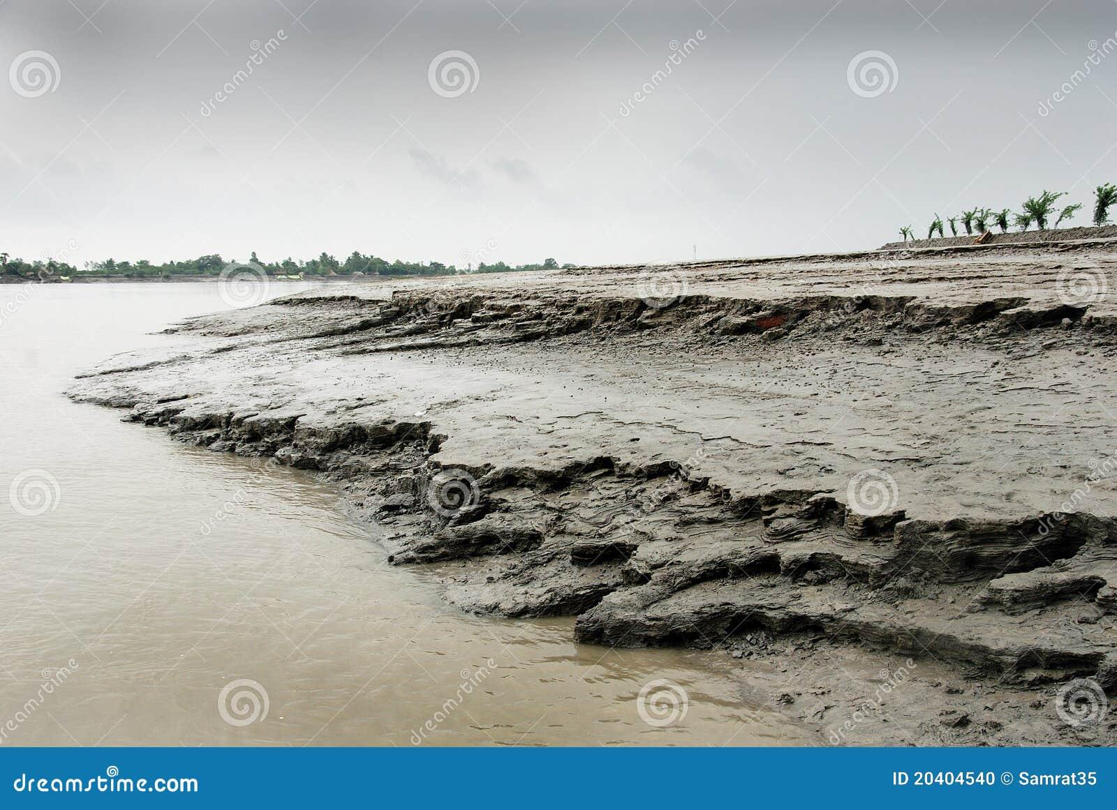 Fluss-Abnutzung