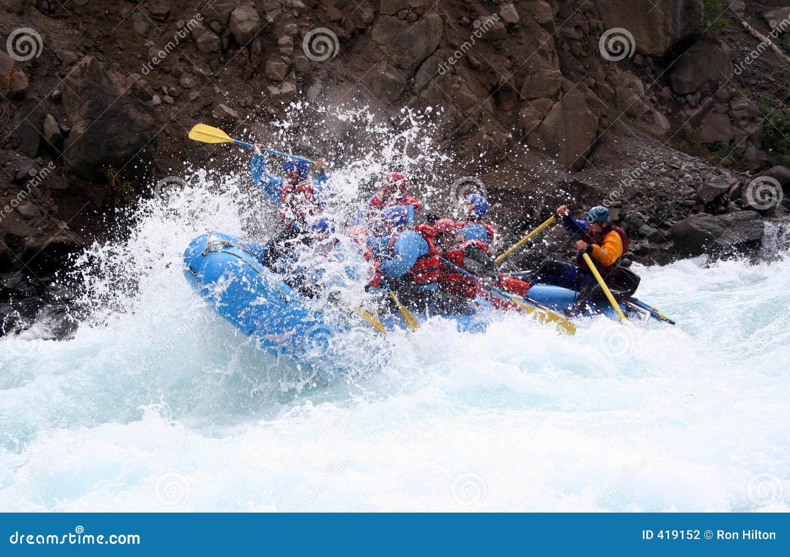 Fluss-Flößen