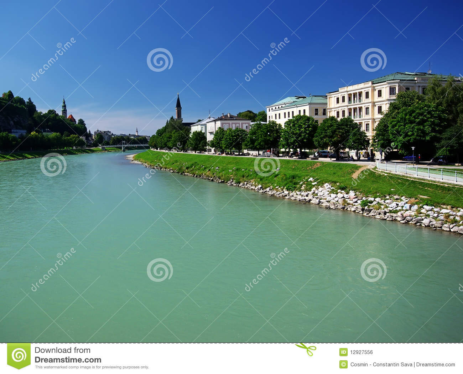 Fluss in Salzburg