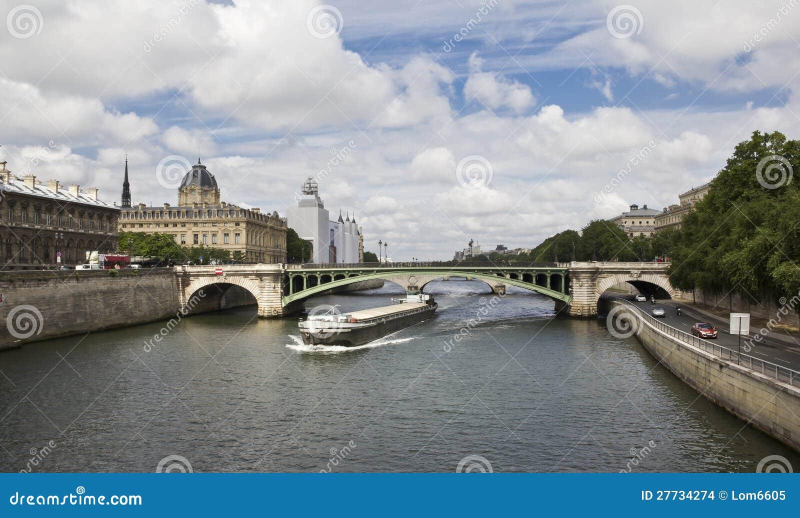 Fluss Seine