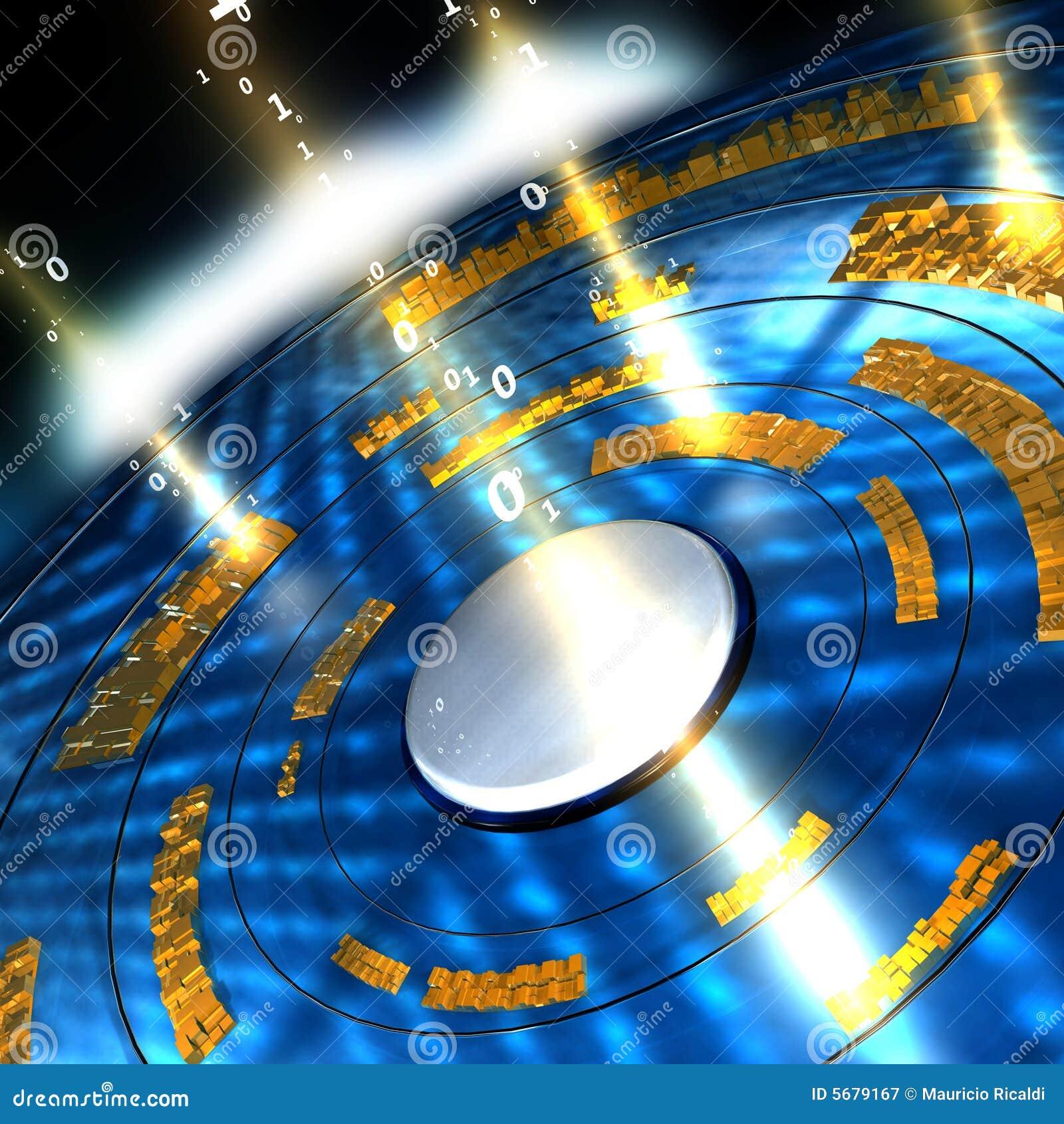 Fluxo De Dados Ilustra U00e7 U00e3o Stock  Ilustra U00e7 U00e3o De Raio  Velocidade