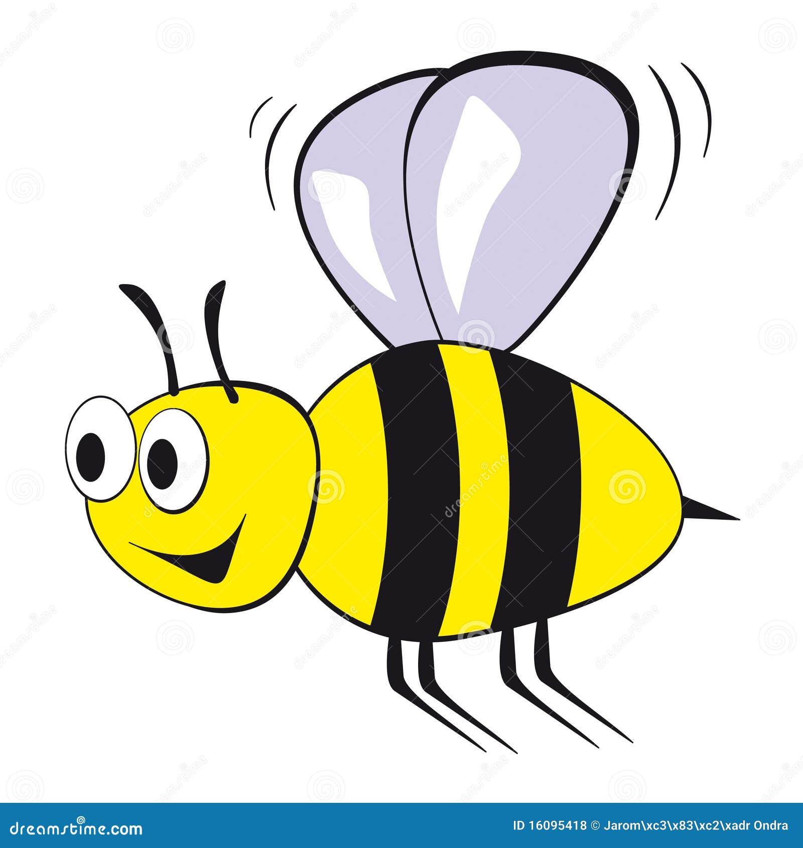 Cartoon bees flying - photo#6