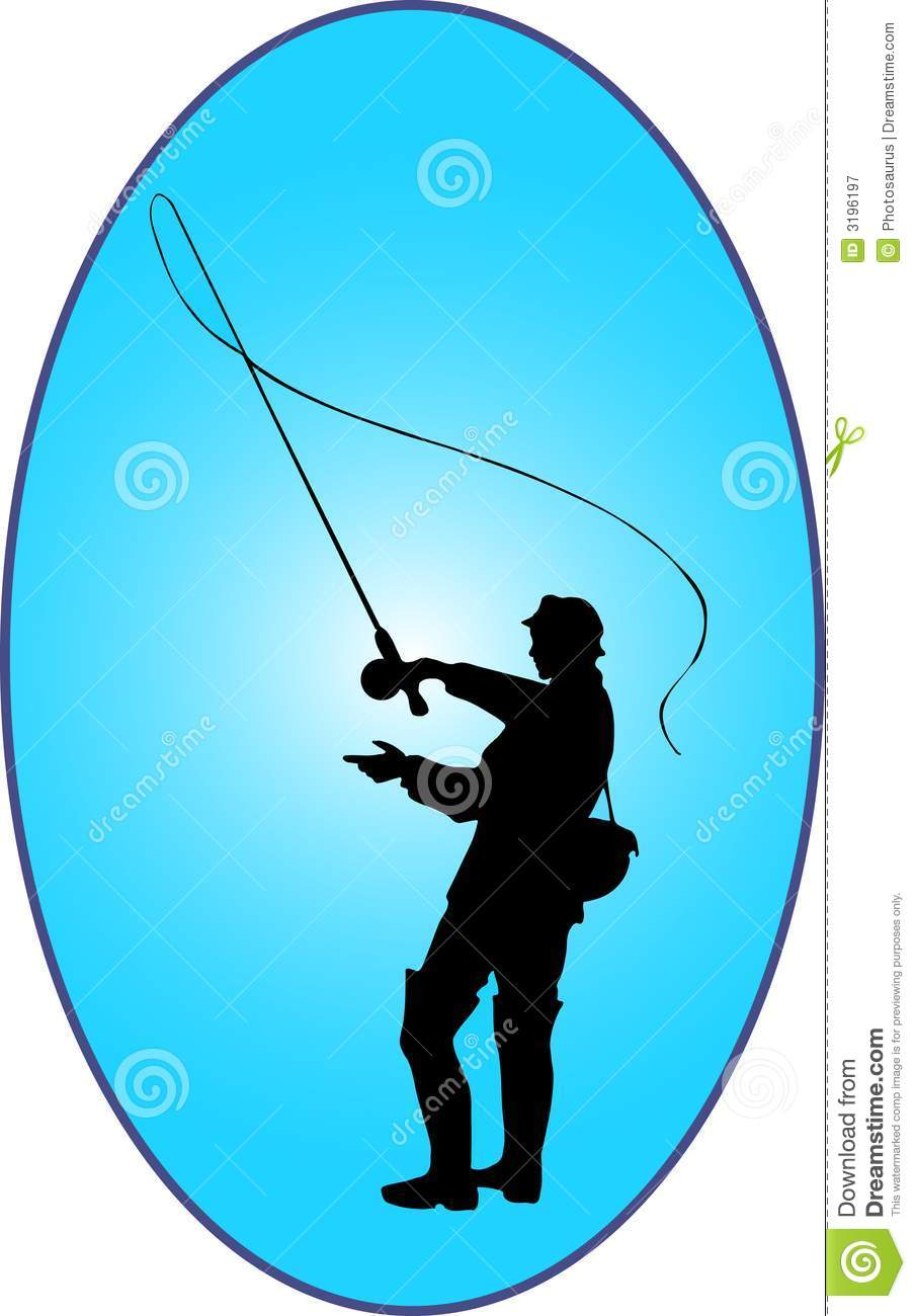 Fly fishing royalty free stock photography image 3196197 for Fishing times free