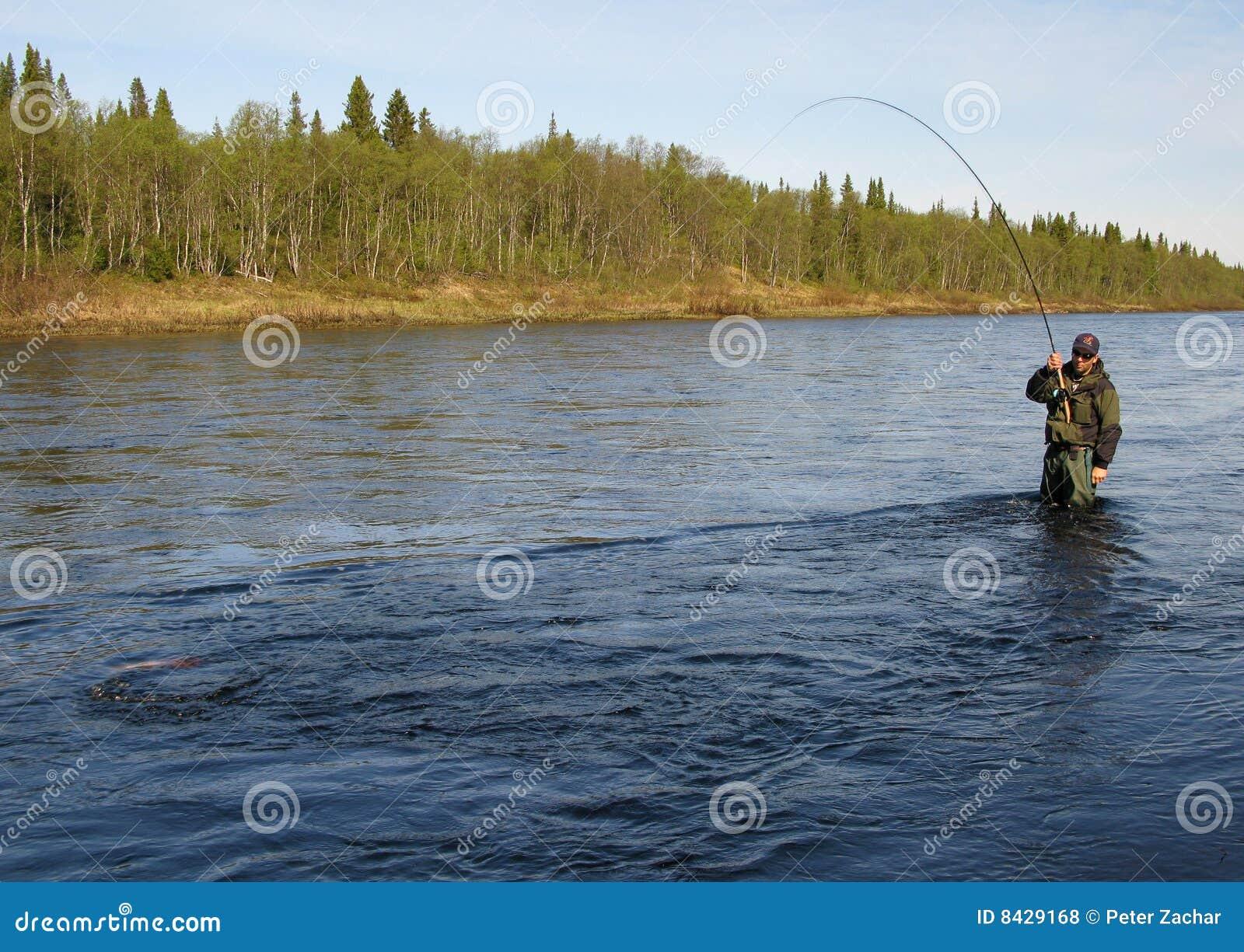 Fly fishing stock photo image of hobby bait hook bite for Fishing bite times