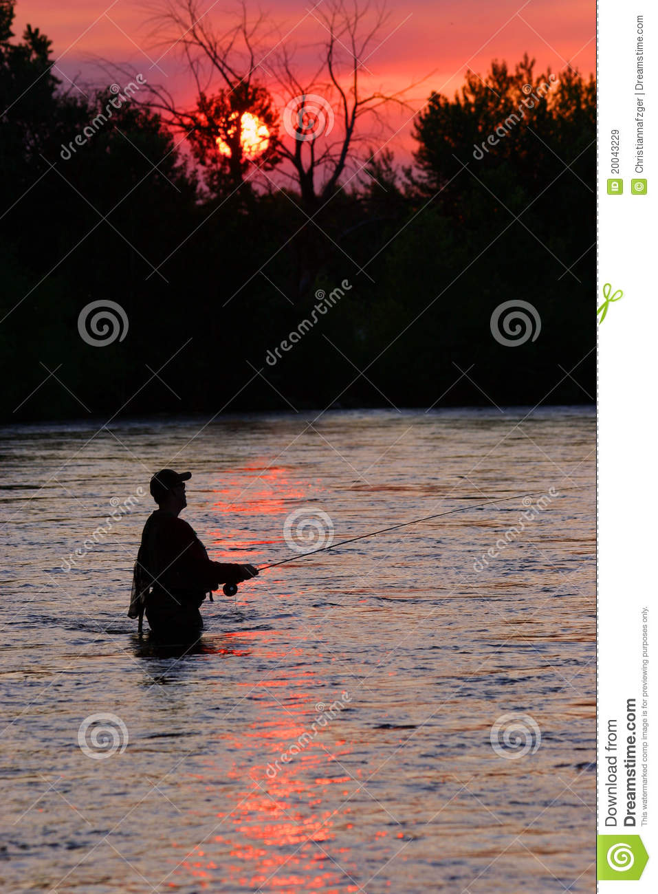 Fly fishing the boise river royalty free stock images for Fly fishing boise idaho
