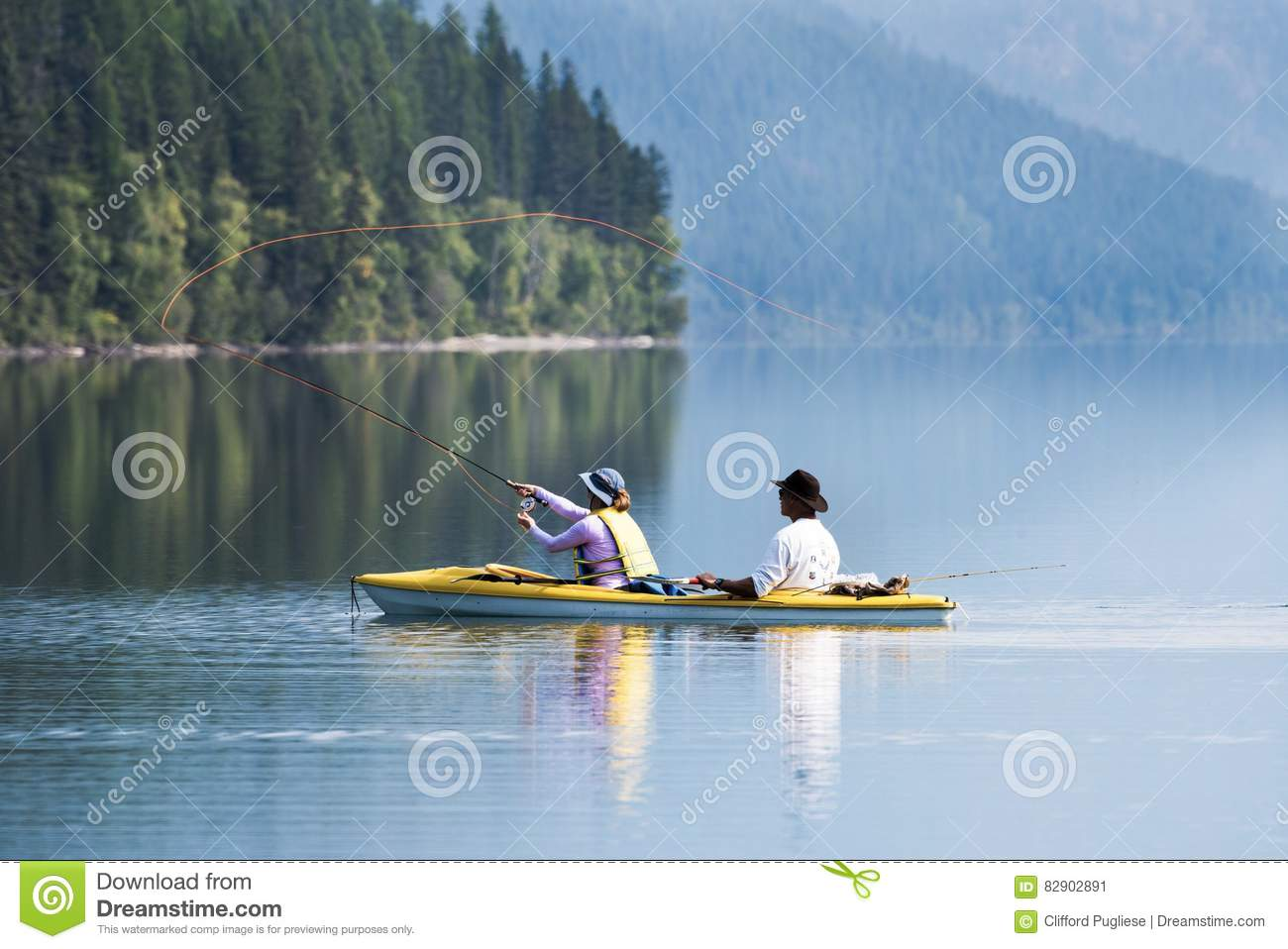 Fly fishing editorial photo image 82902891 for Fishing in glacier national park