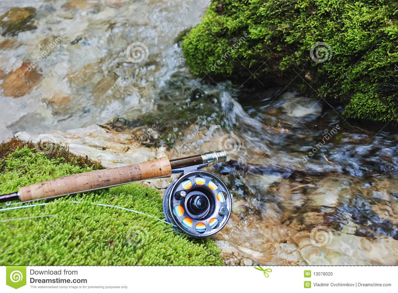 Fly fishing gear stock photo image 13078020 for Fly fishing gloves