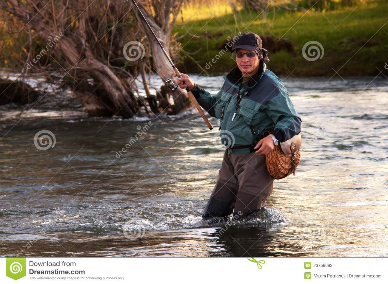 Fly fishing in mongolia stock photos image 23756093 for Fly fishing mongolia