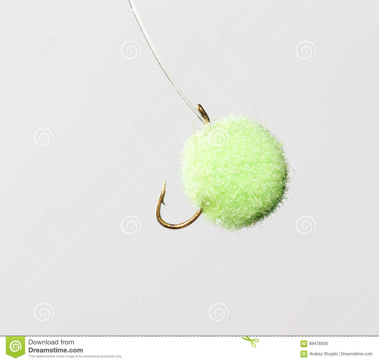 Fly For Fishing On A White Background Royalty-Free Stock ...