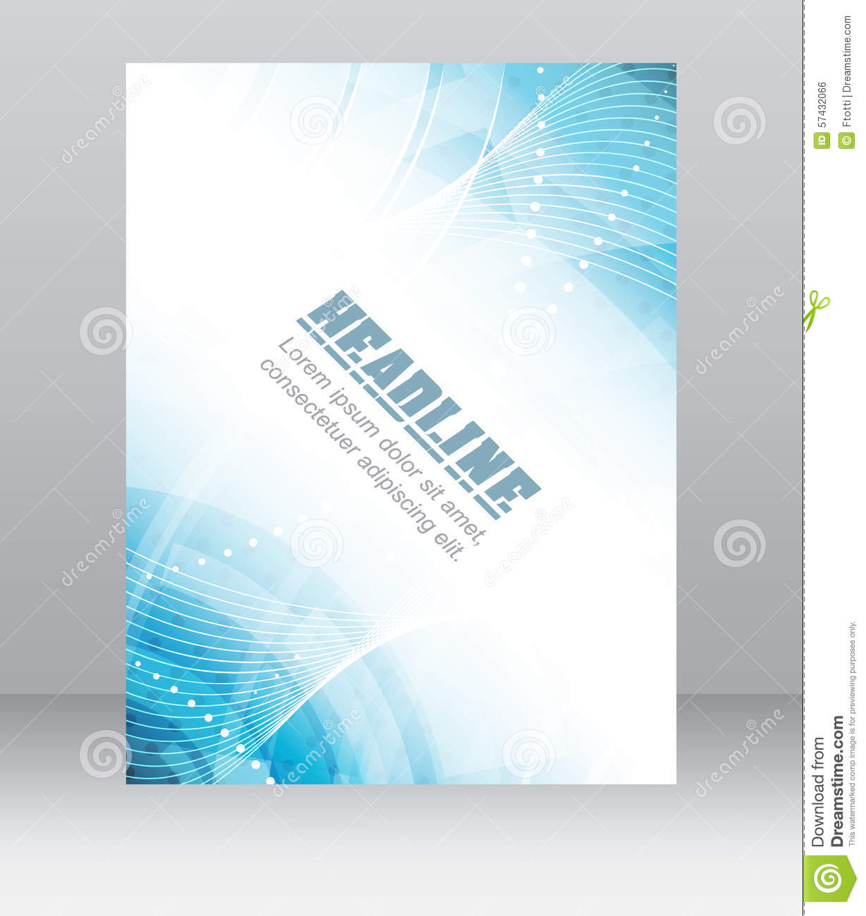 technology brochure templates - flyer or brochure template corporate banner abstract