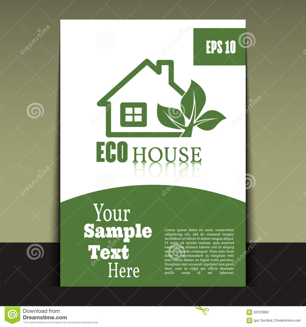 flyer or cover design green house brochure or report for busine flyer or cover design green house brochure or report for busine