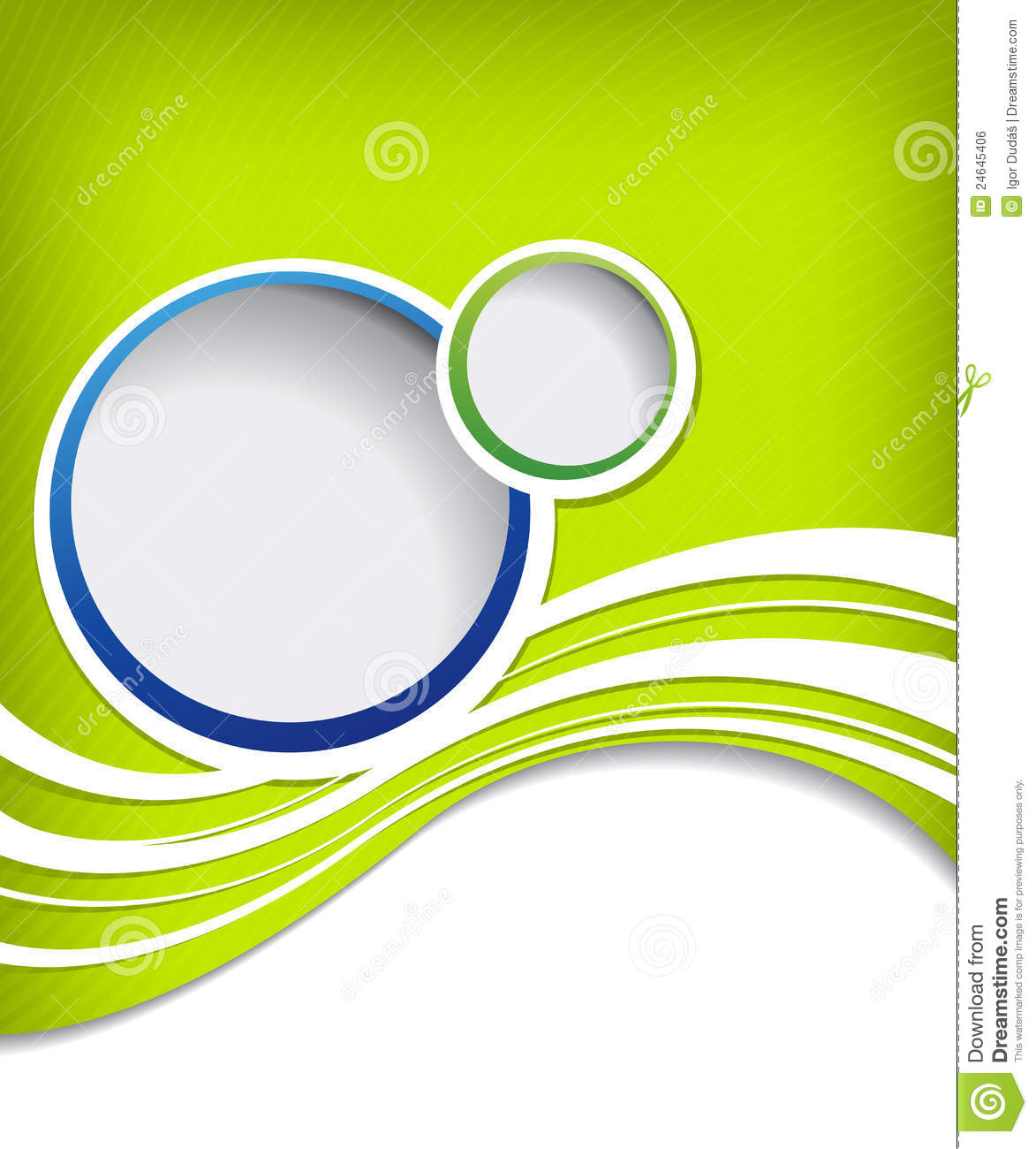 Flyer Design Royalty Free Stock Image - Image: 24645406