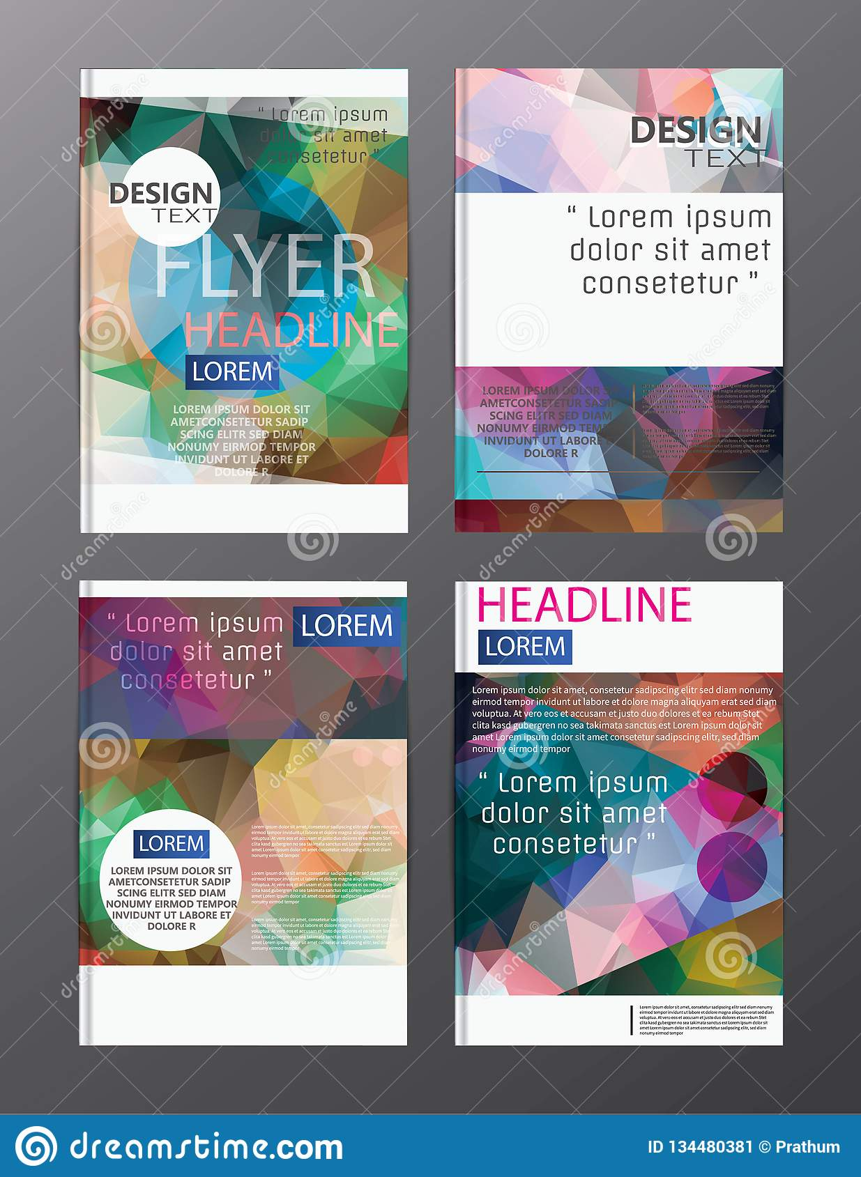 Flyer design business annual report brochure template. cover presentation abstract background for business, magazines