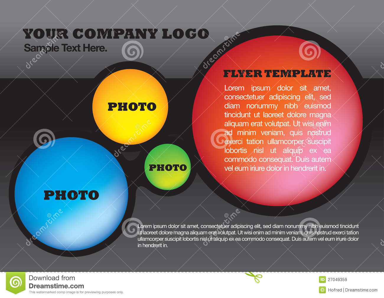 flyer design layout template royalty stock images image flyer design layout template