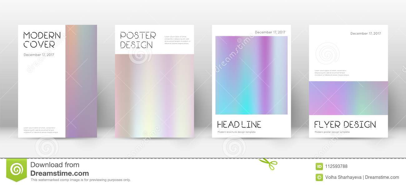 Flyer layout. stock vector. Illustration of event, blank - 112593788