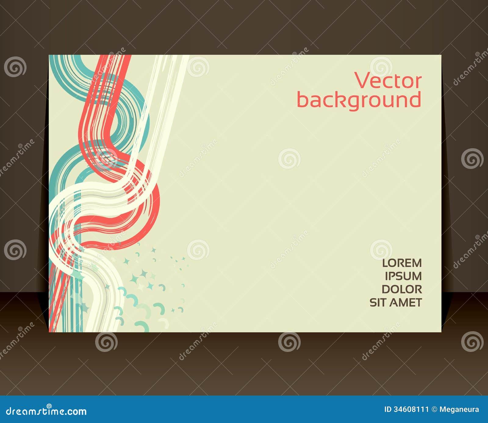 flyer leaflet booklet layout editable design template stock vector image 34608111. Black Bedroom Furniture Sets. Home Design Ideas