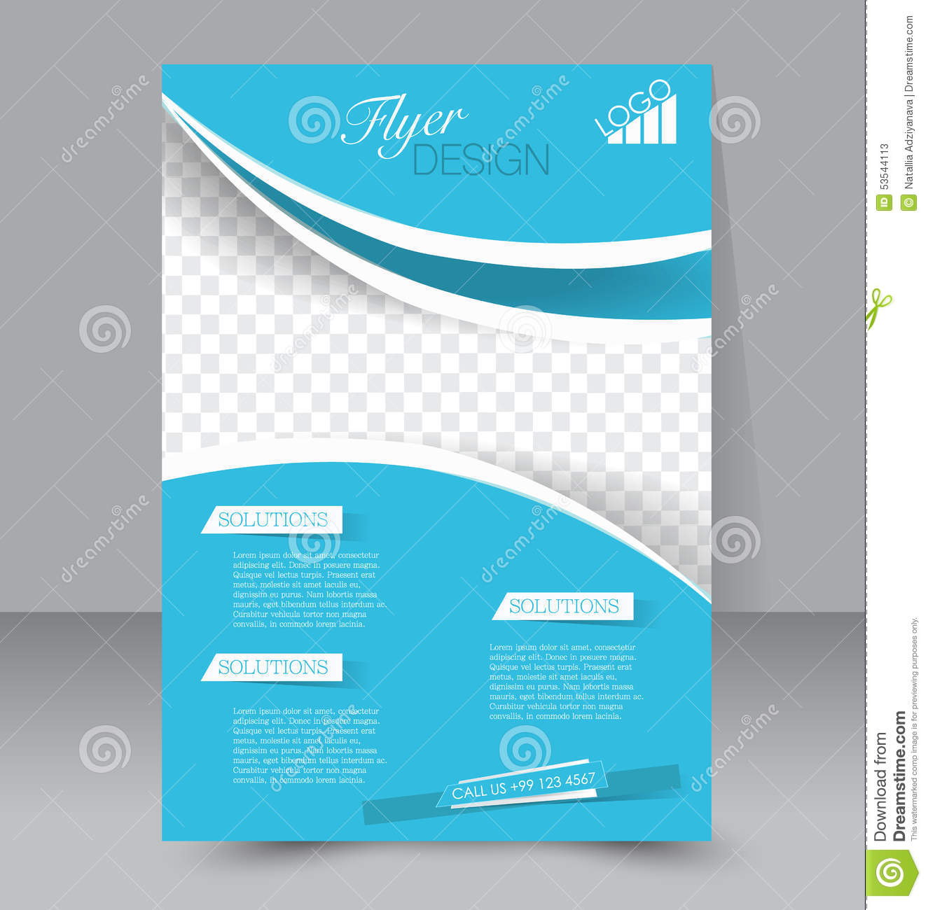 Flyer template business brochure editable a4 poster stock vector flyer template business brochure editable a4 poster stock vector illustration of headline media 53544113 flashek Image collections