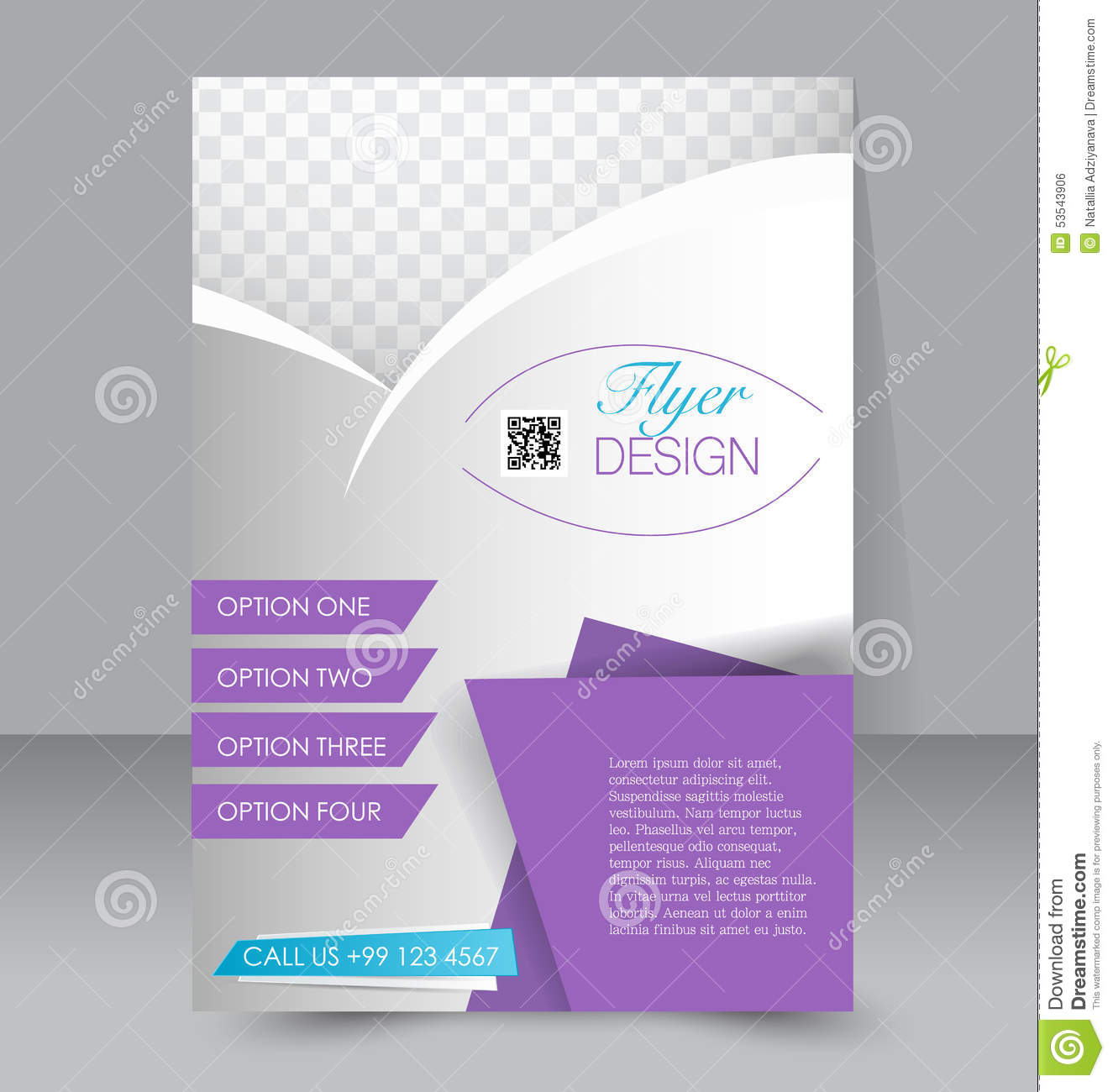 template for brochure free - flyer template business brochure editable a4 poster