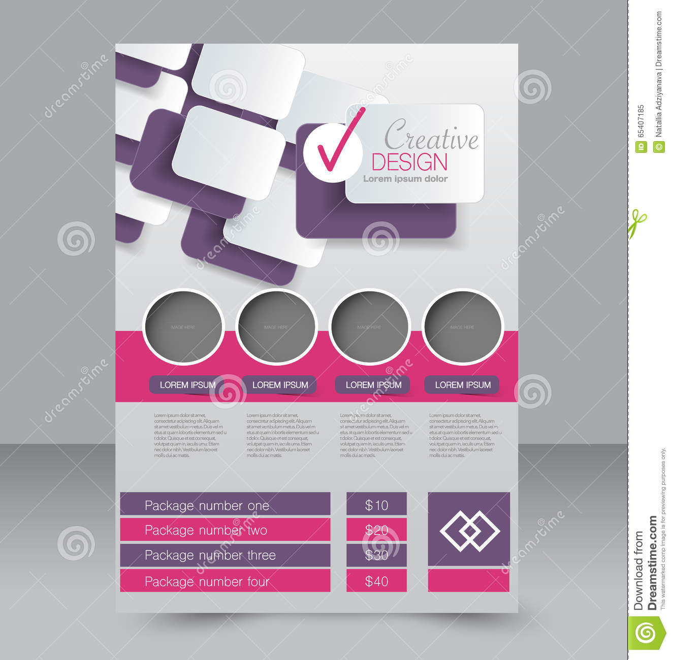 Poster design business - Free A4 Poster Design Flyer Template Business Brochure Editable A4 Poster For Design