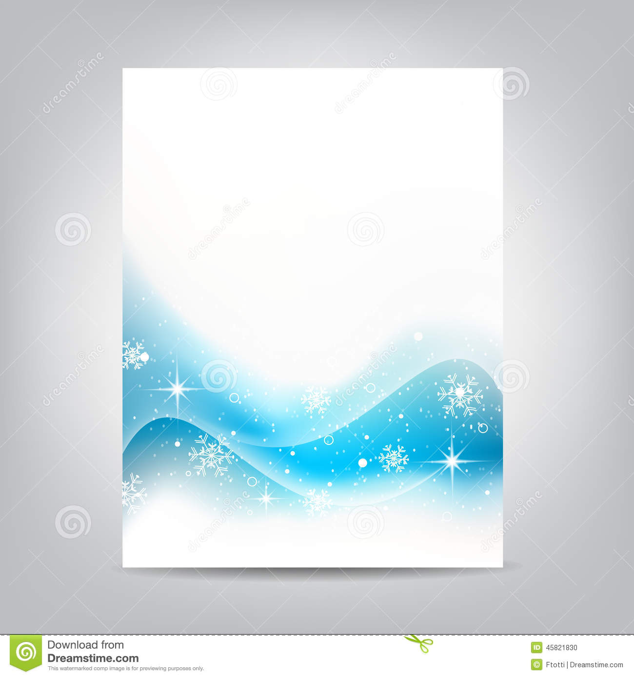 Free Winter Flyer Templates