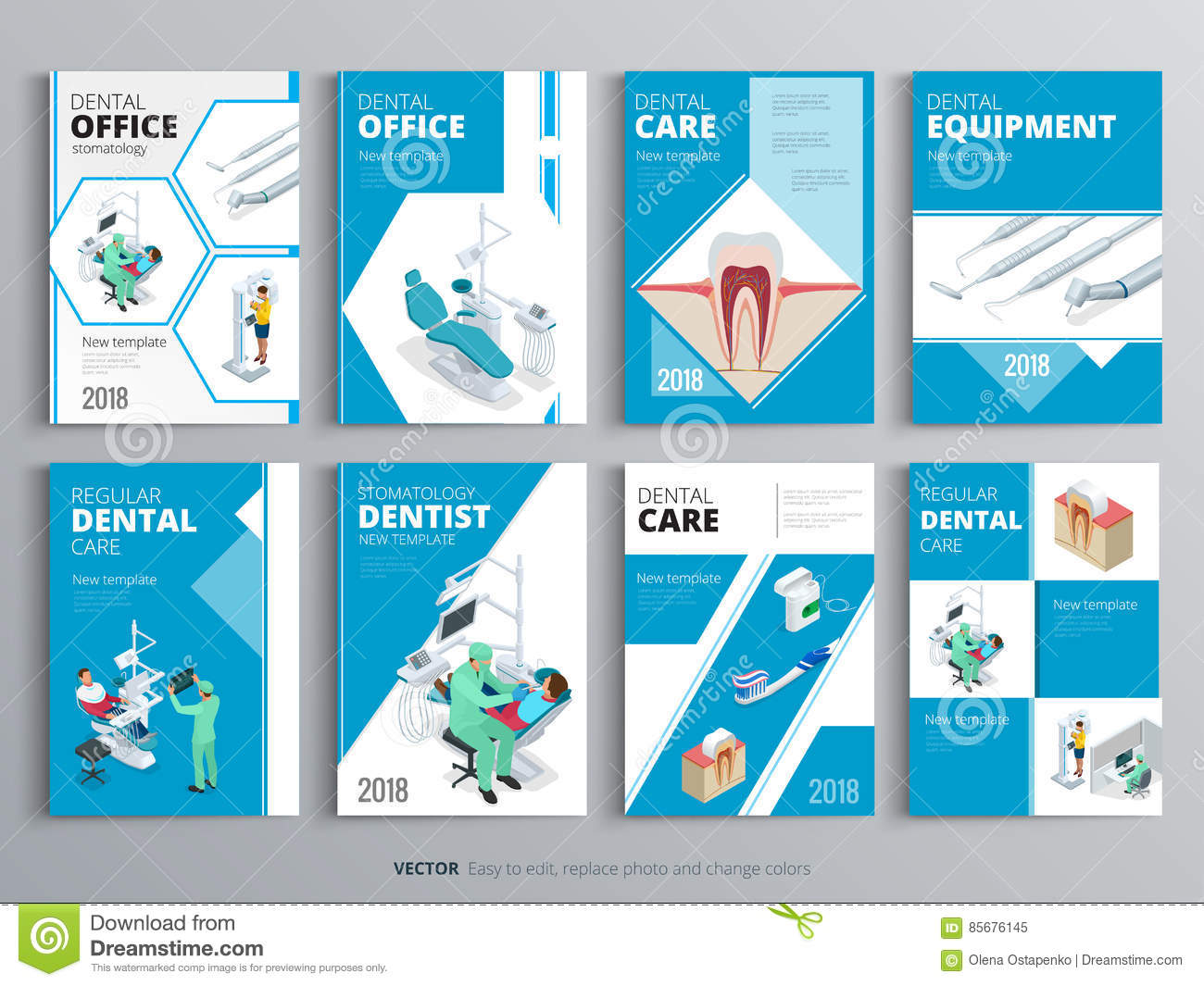 Health Book Cover Design : Flyers for health and medical concept hygiene template of