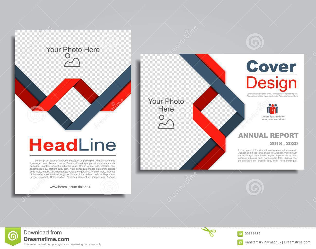 flyers report brochure cover book portfolio design template vector