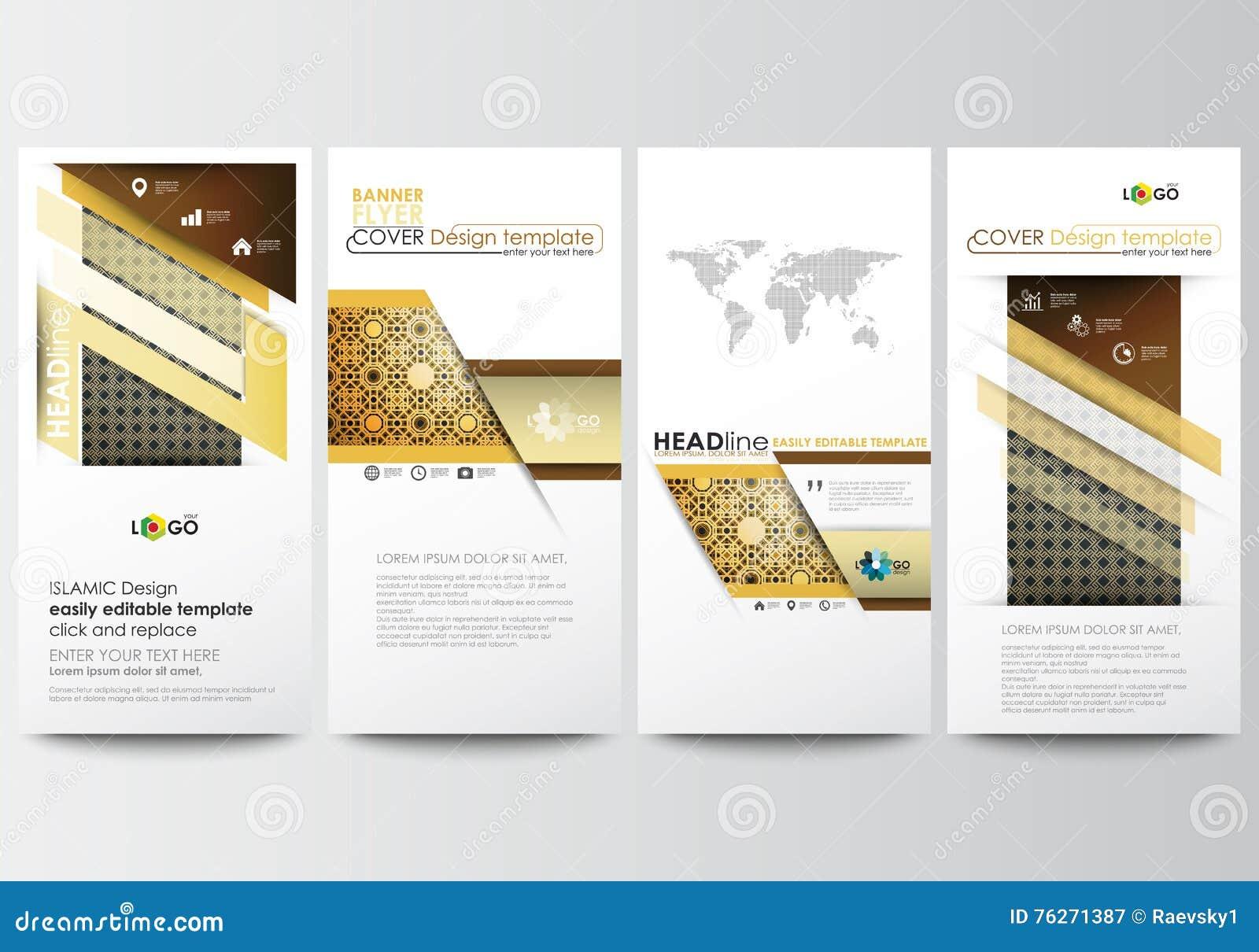 banners set of islamic vector illustration 73348130. Black Bedroom Furniture Sets. Home Design Ideas