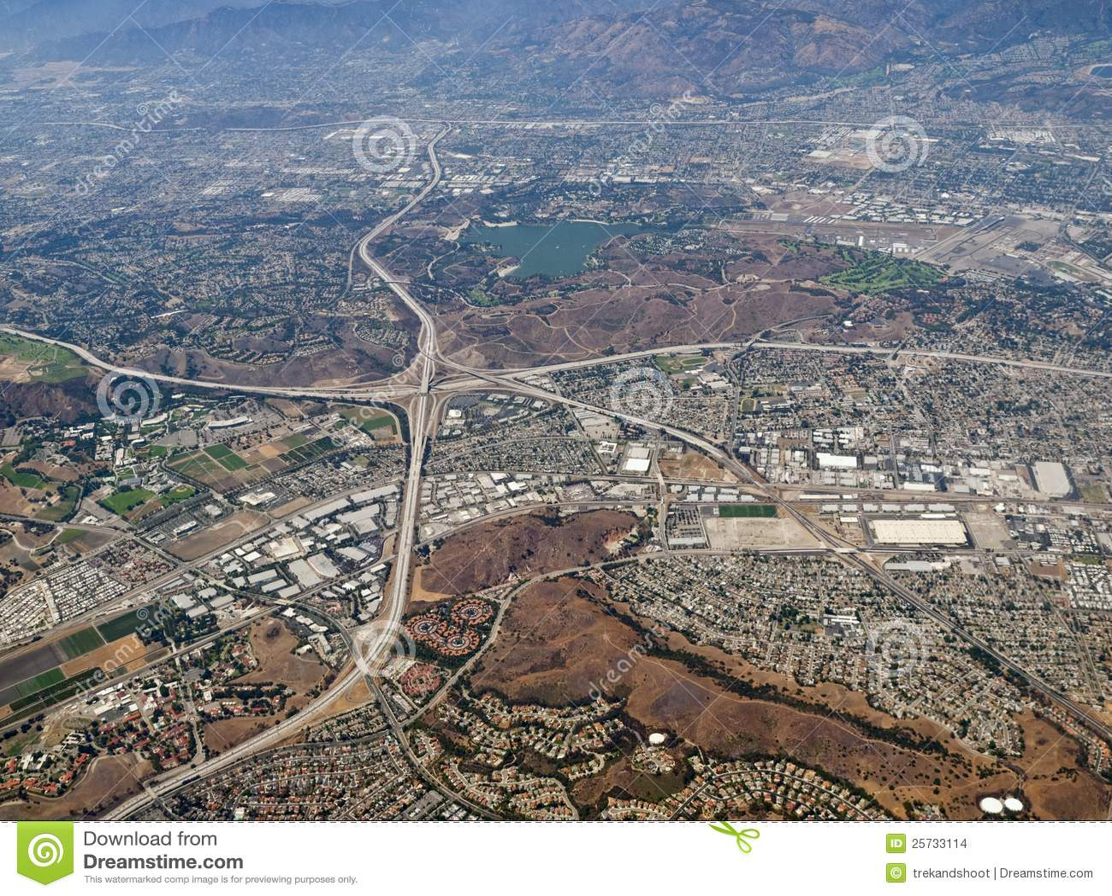 Flyg- Kalifornien dimas pomona san
