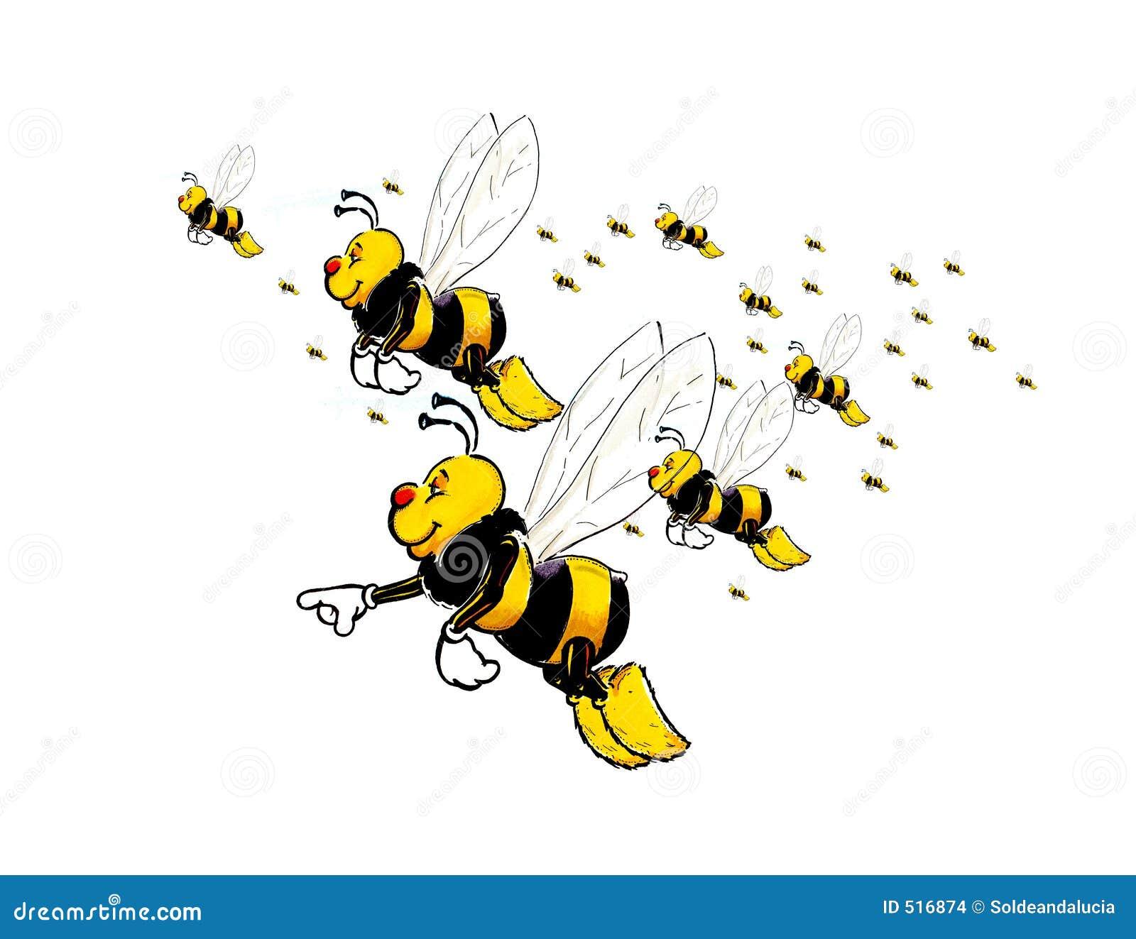 Flyga för bin