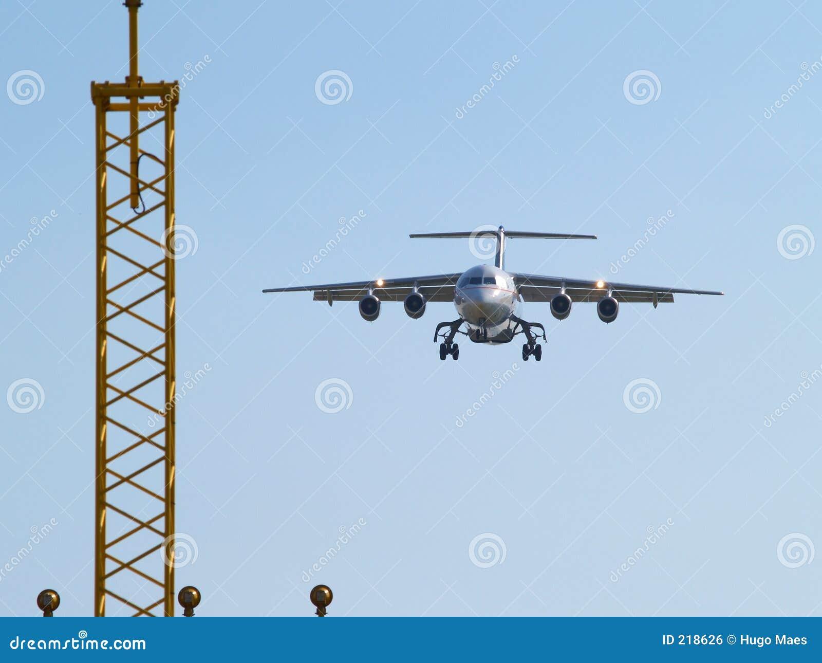 Flygplanlandninglampor