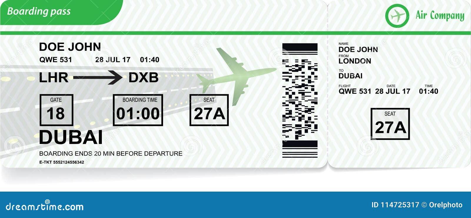 Flygplanlogipasserande Vektorflygbolagbiljett
