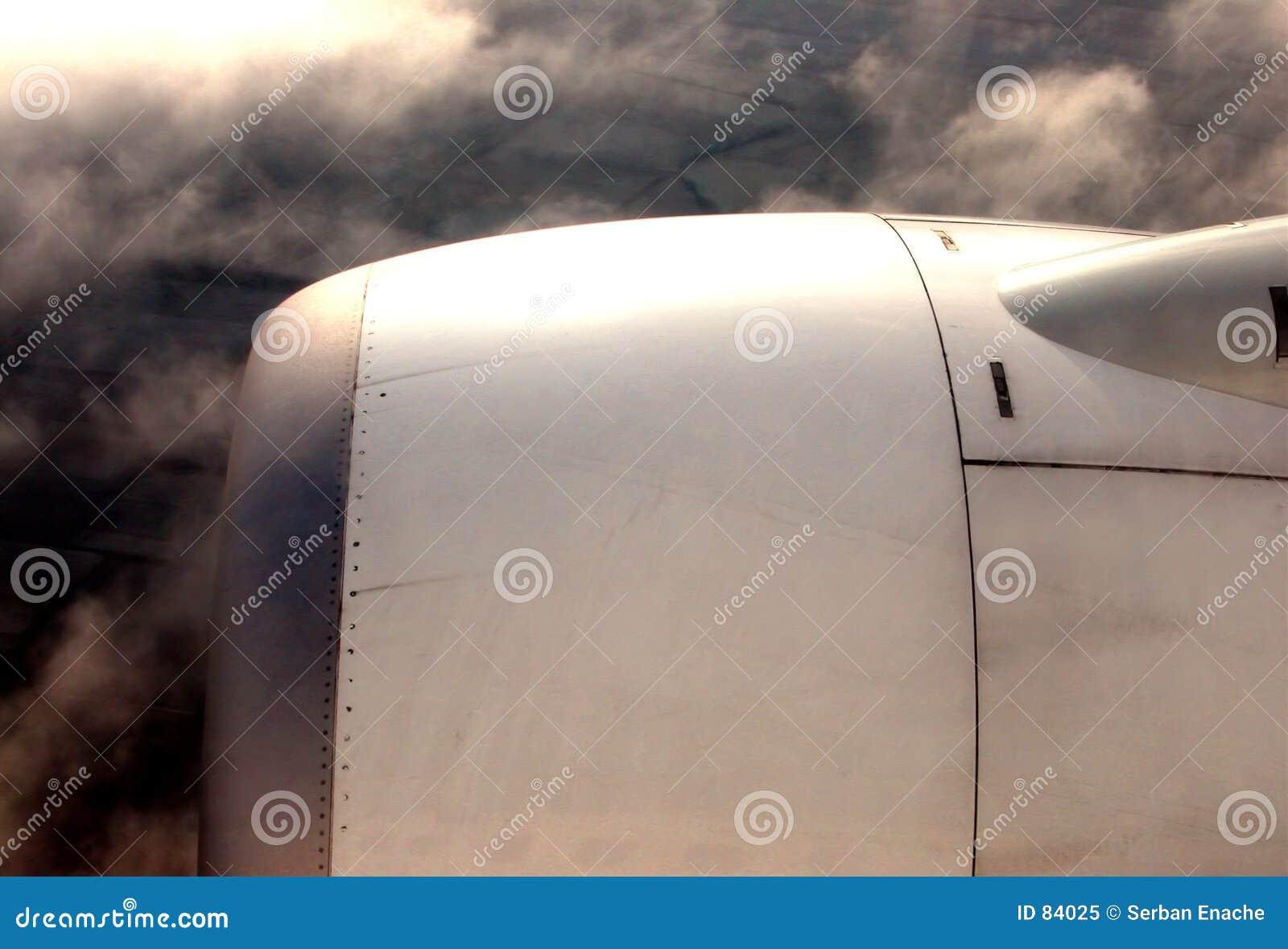 Flygplanmotor