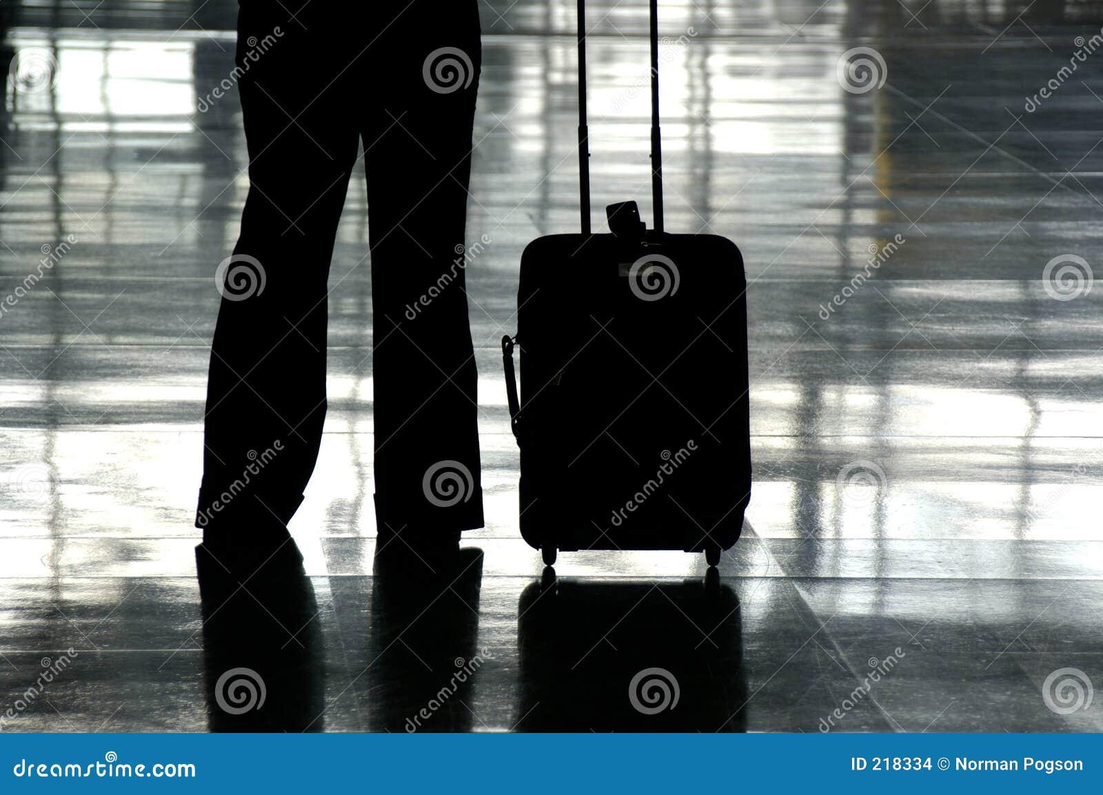 Flygplatshandelsresande