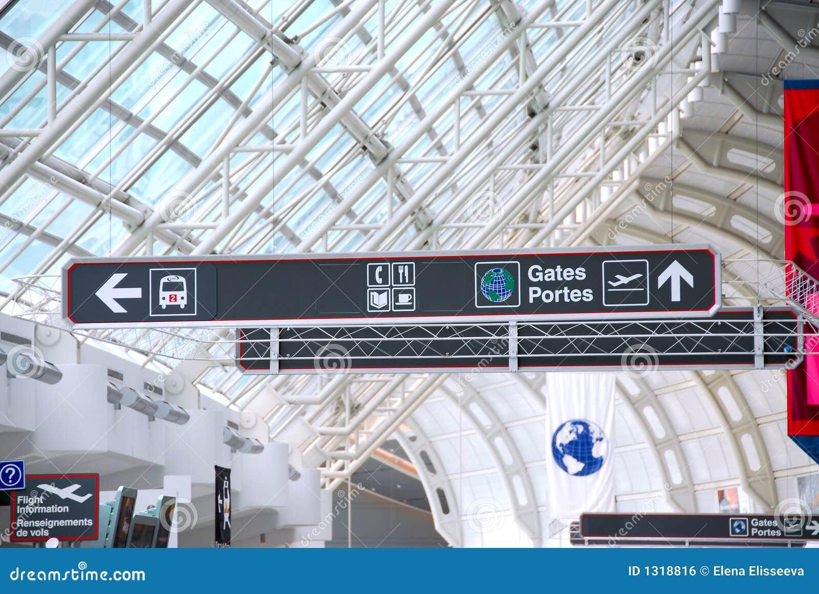 Flygplatstecken
