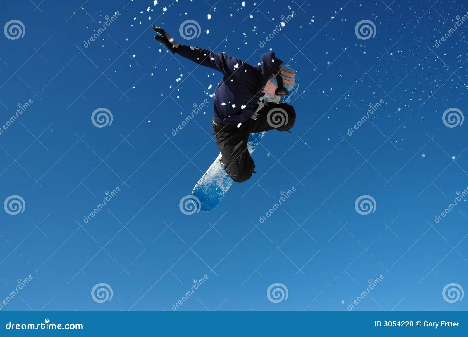 Flygsnowboarder