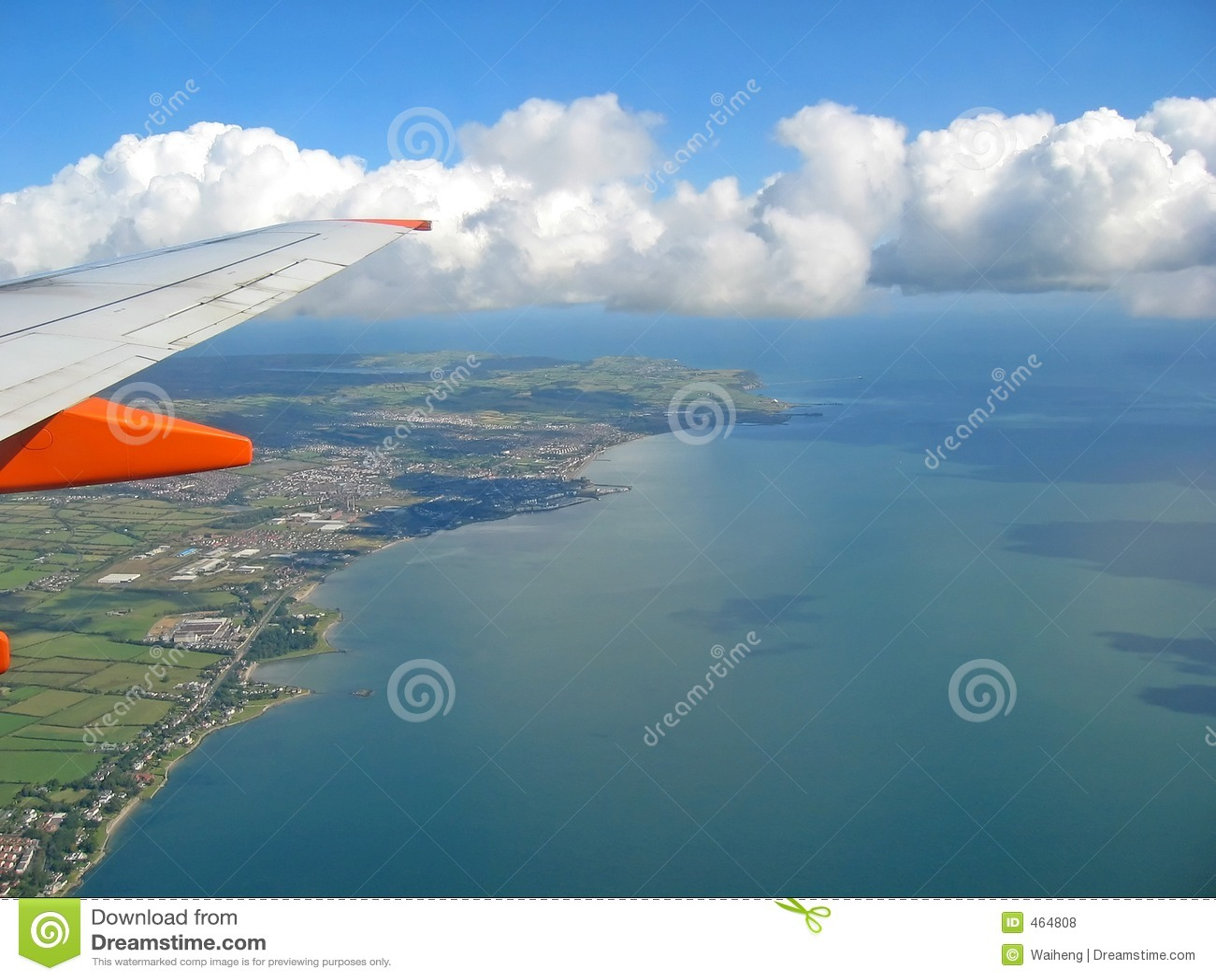 Download Flying stock photo. Image of aeroplane, water, landing - 464808