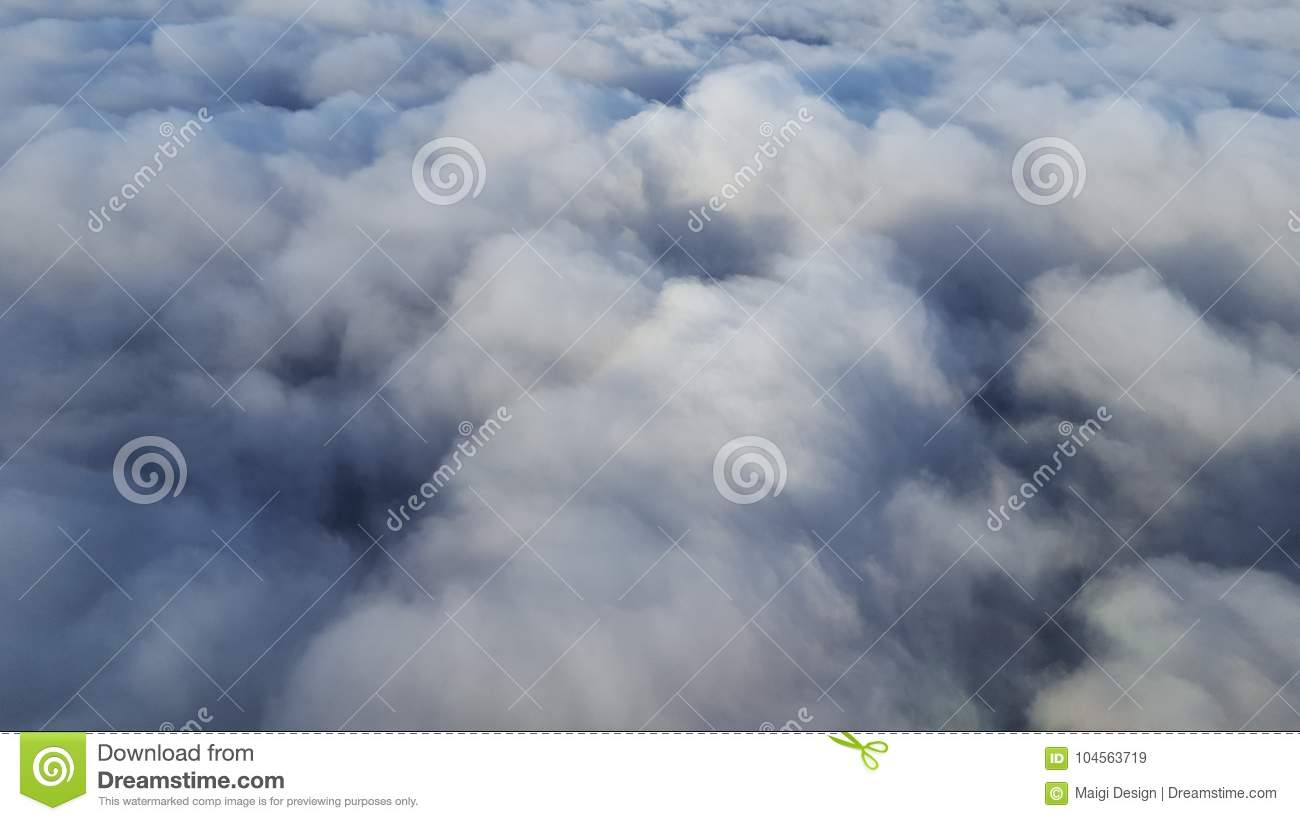 Download Above the clouds stock image. Image of cover, mass, clouds - 104563719